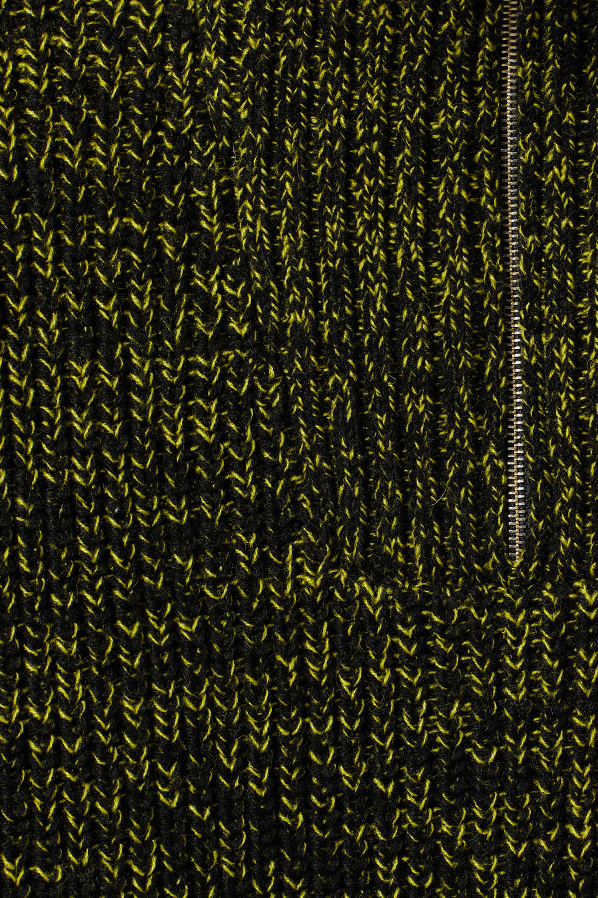 Detailed image of Weekday arnold sweater in yellow