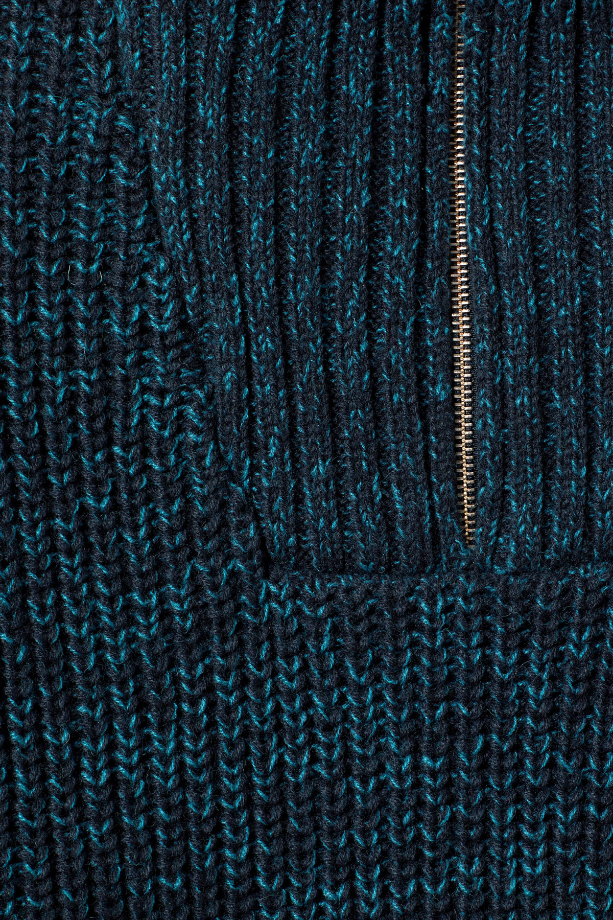 Detailed image of Weekday arnold sweater in blue