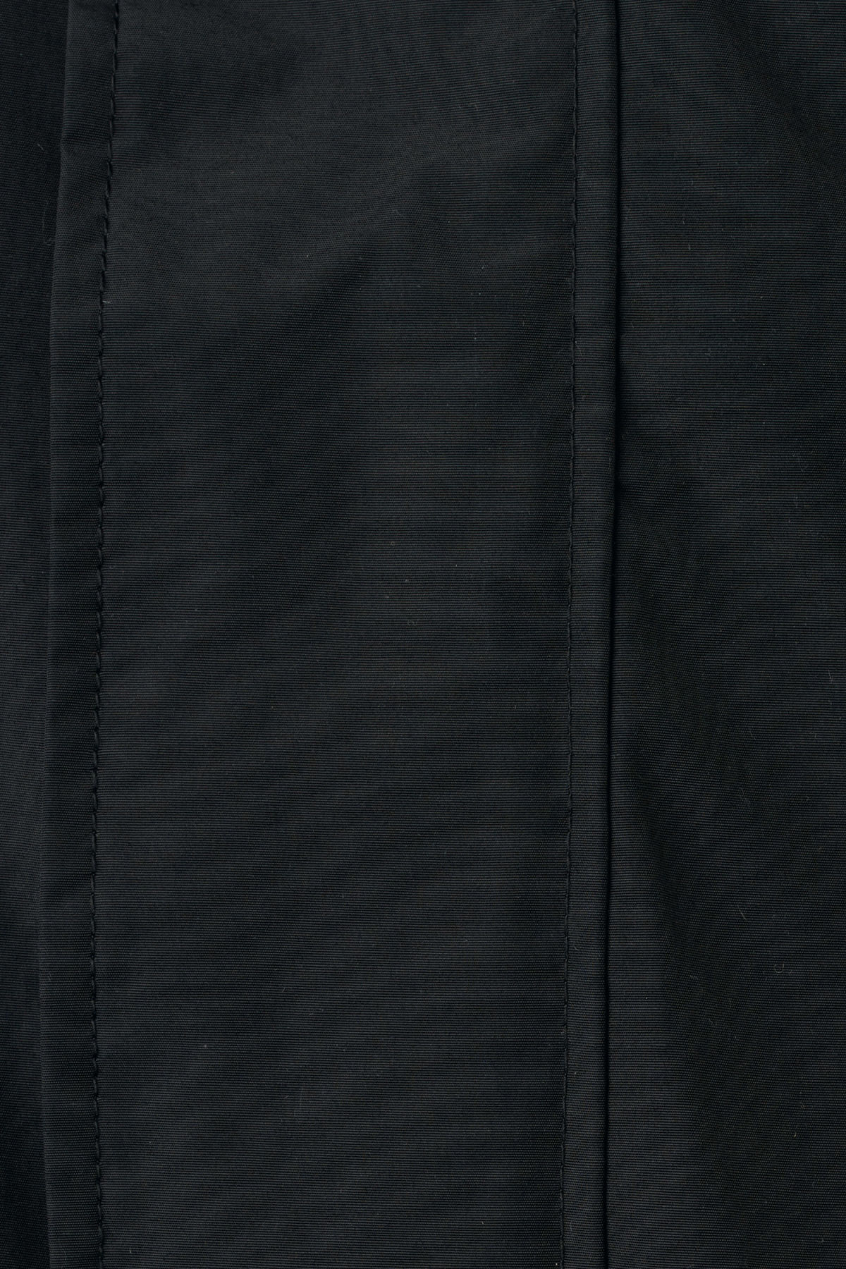 Detailed image of Weekday ed parka in black