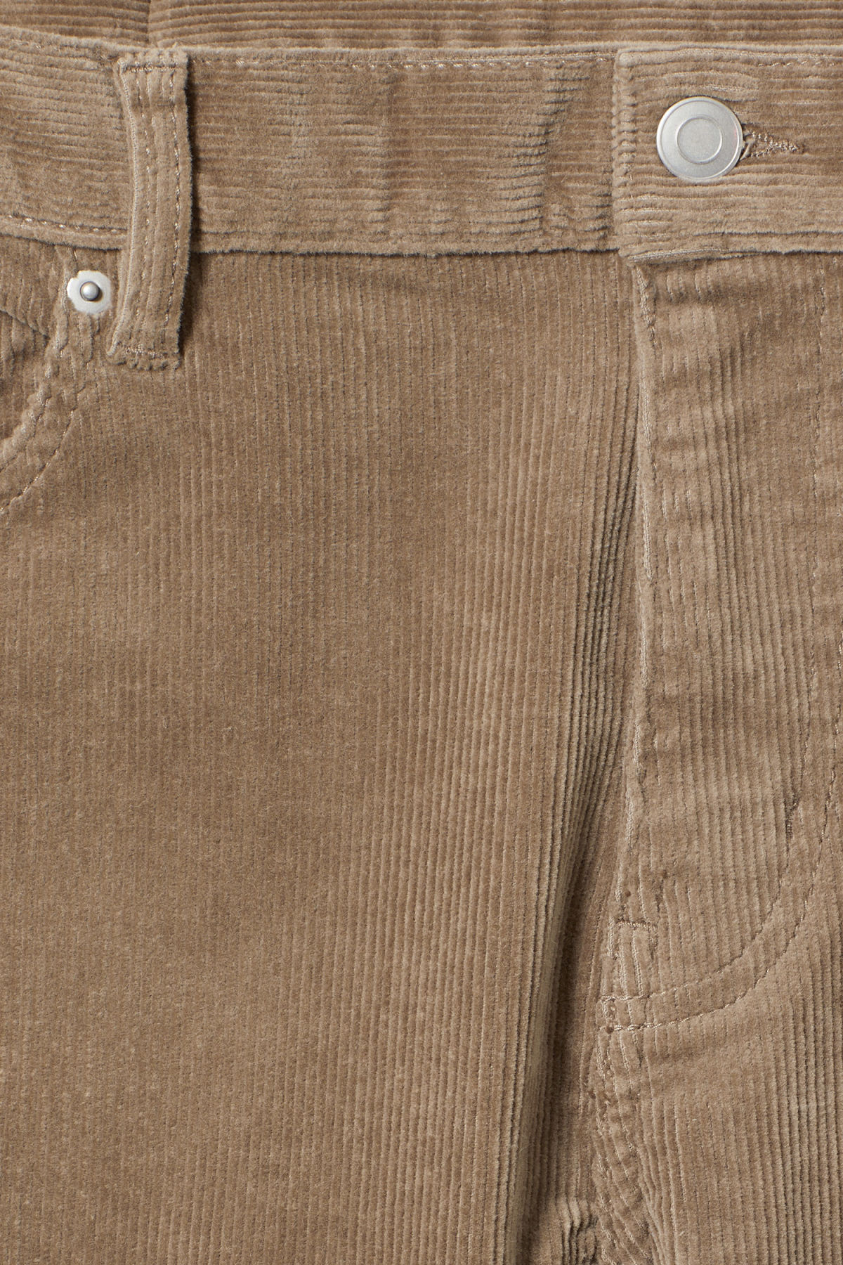 Detailed image of Weekday friday corduroy in beige