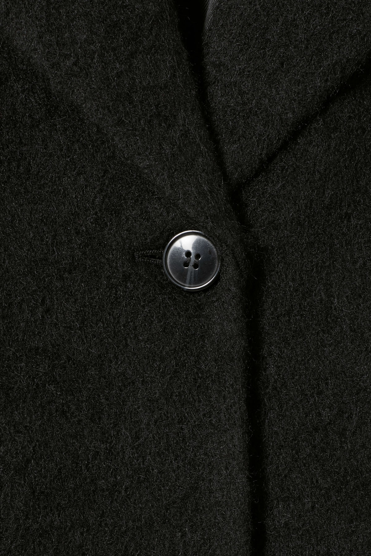 Detailed image of Weekday mario coat in black