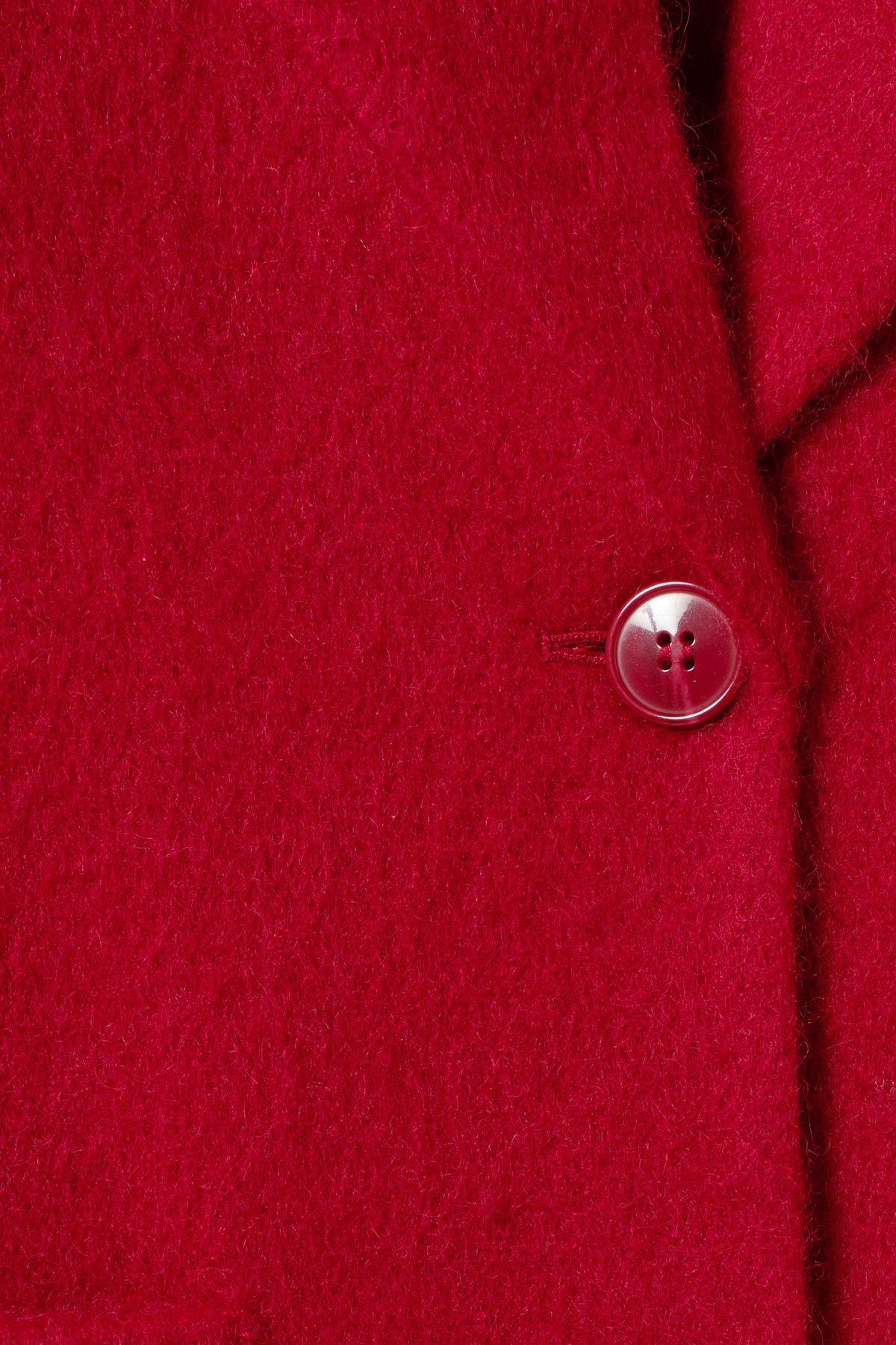 Detailed image of Weekday mario coat in red
