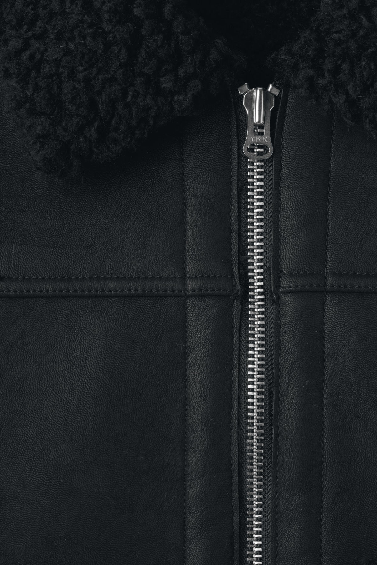 Detailed image of Weekday mountain jacket in black