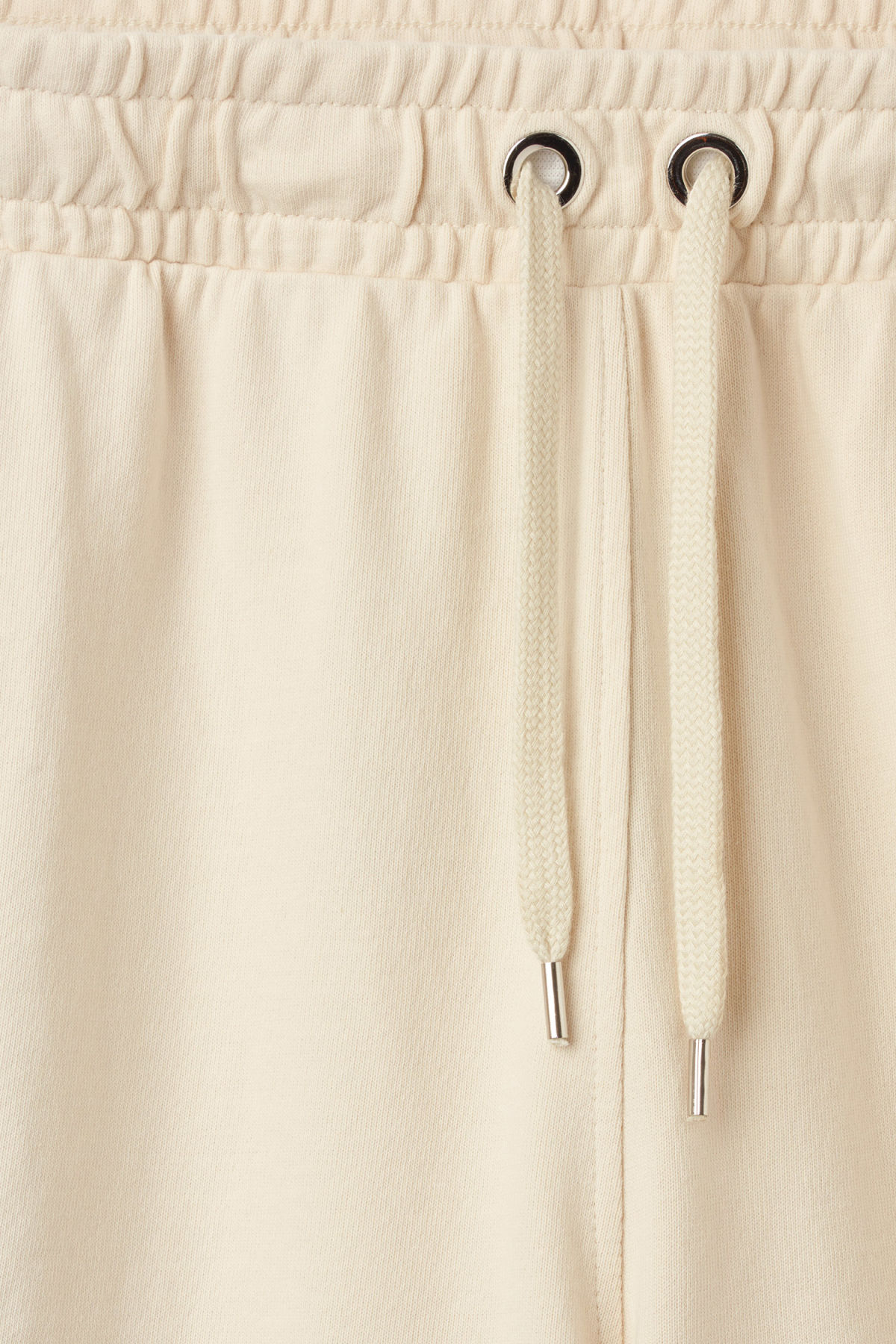 Detailed image of Weekday hurdle shorts in beige