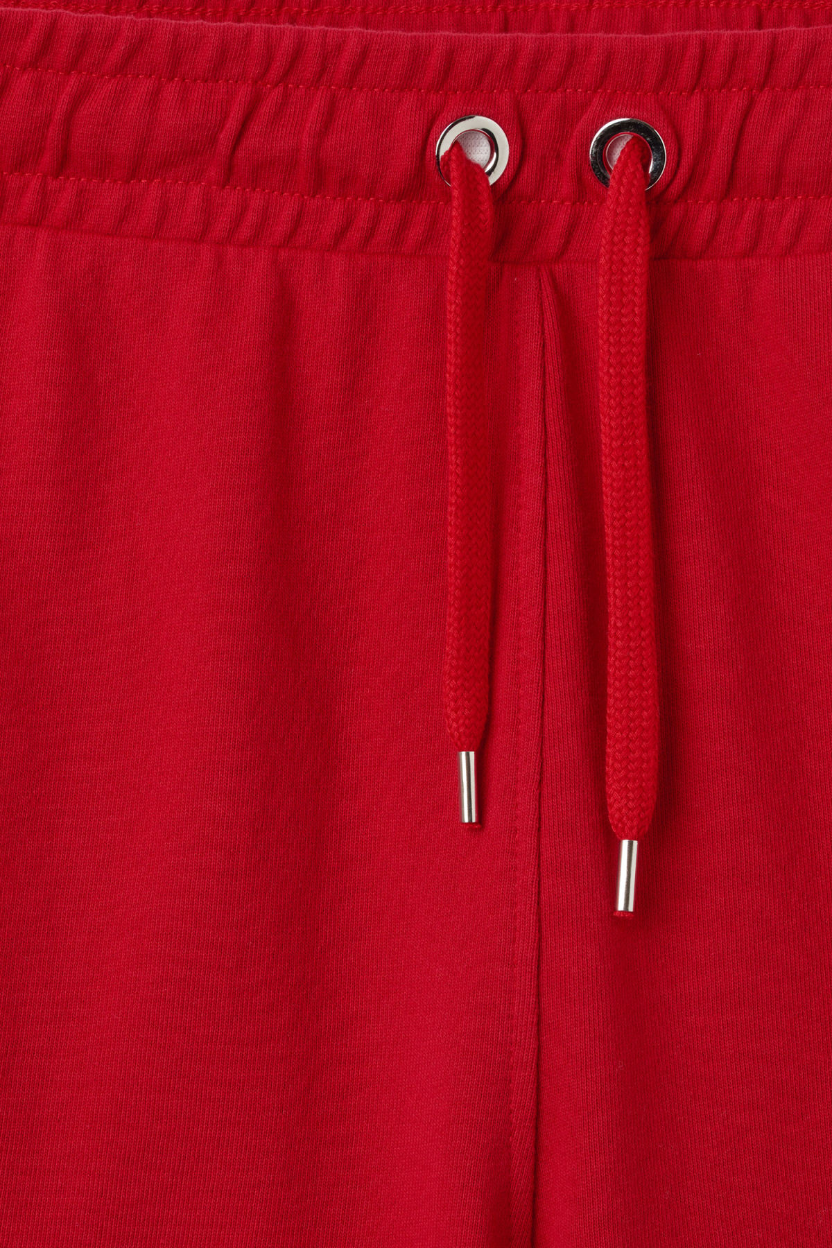 Detailed image of Weekday hurdle shorts in red