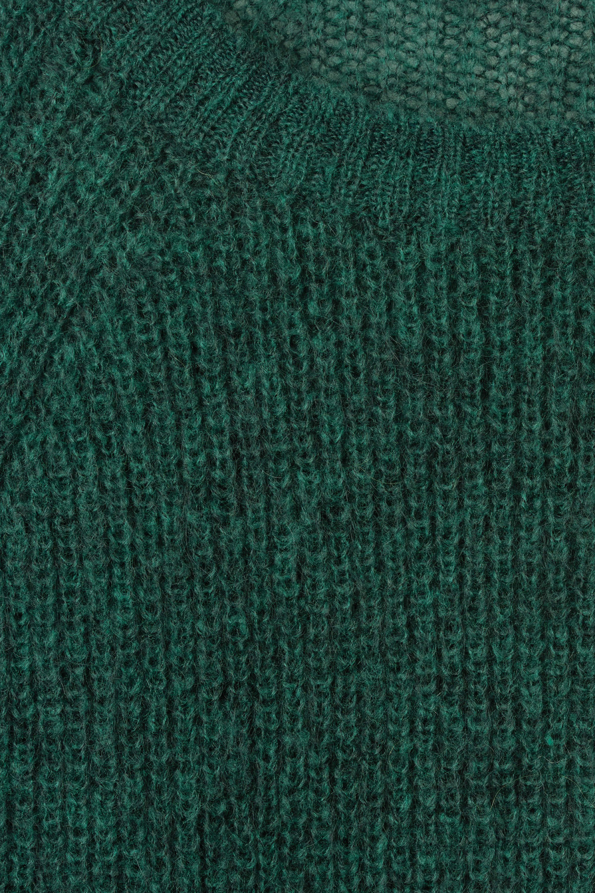 Detailed image of Weekday joni sweater in green