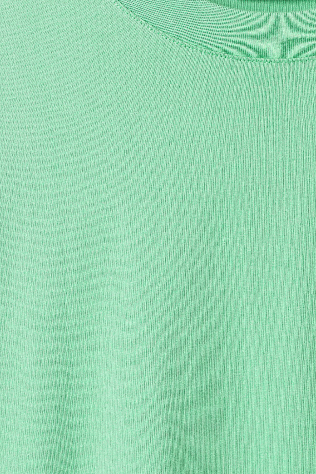 Detailed image of Weekday huge t-shirt in green