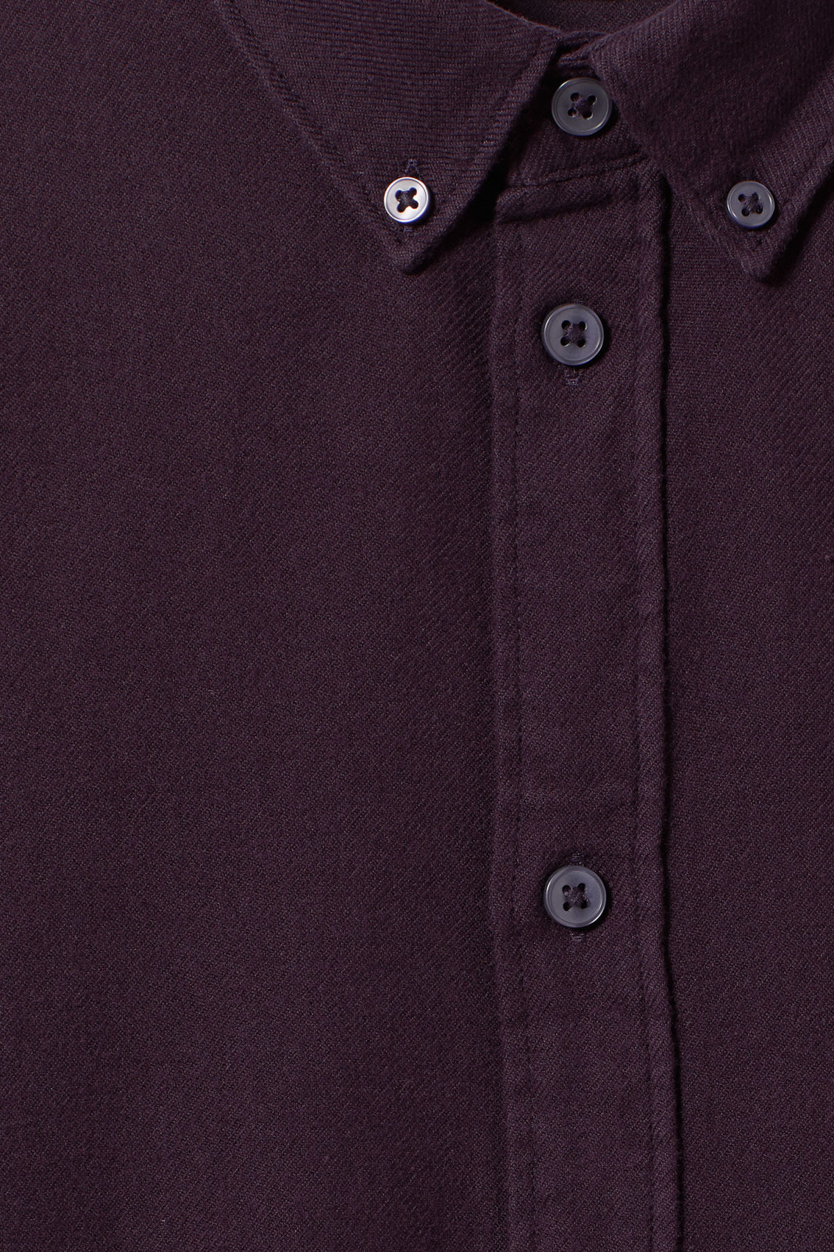Detailed image of Weekday seattle flanell shirt in purple