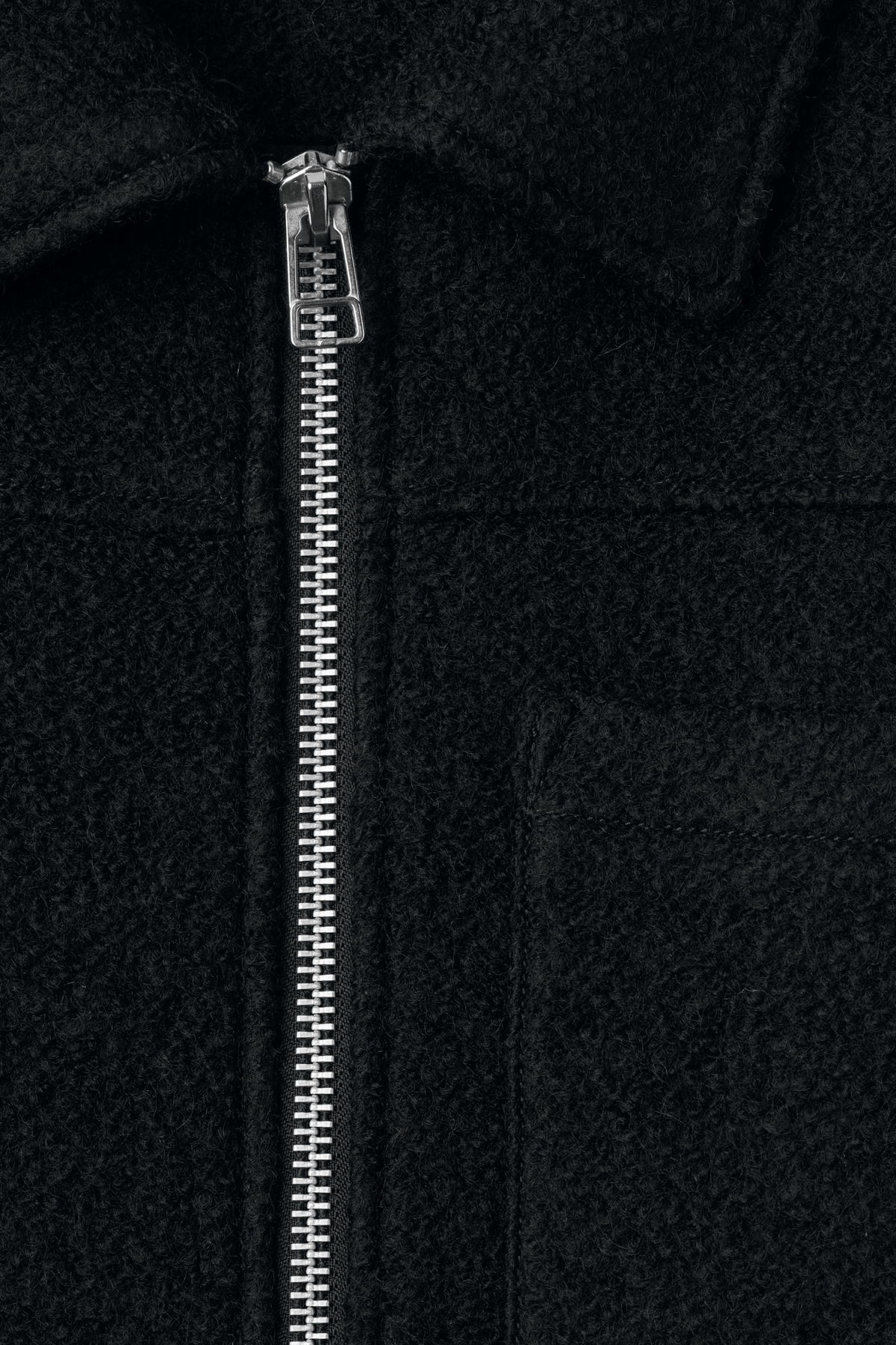 Detailed image of Weekday merz jacket in black