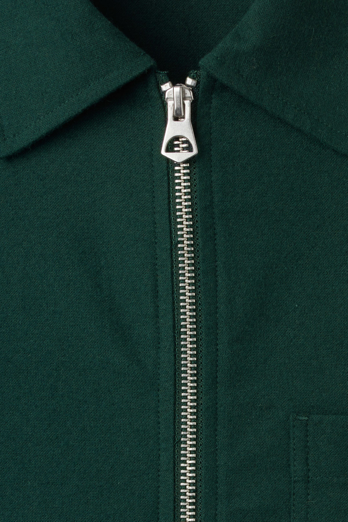 Detailed image of Weekday temp peached shirt in green