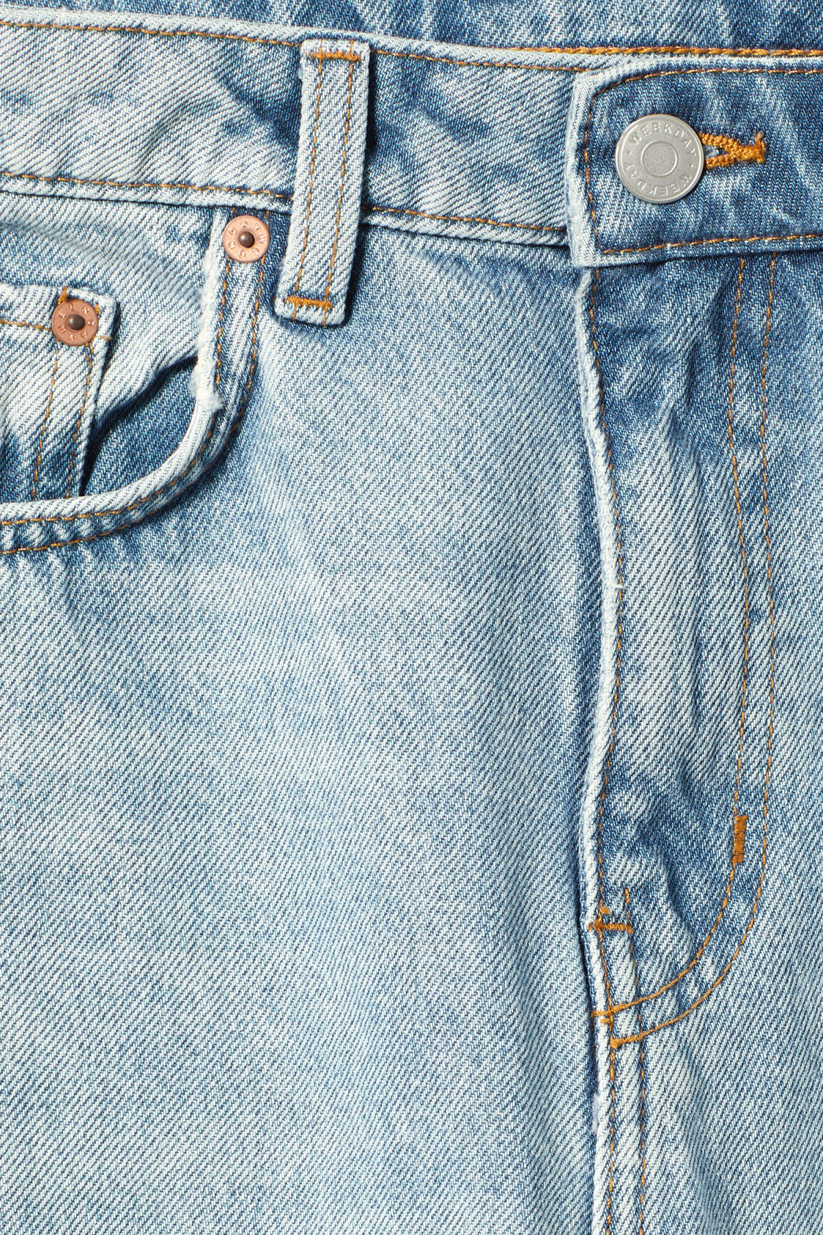 Detailed image of Weekday voyage spring blue jeans in blue