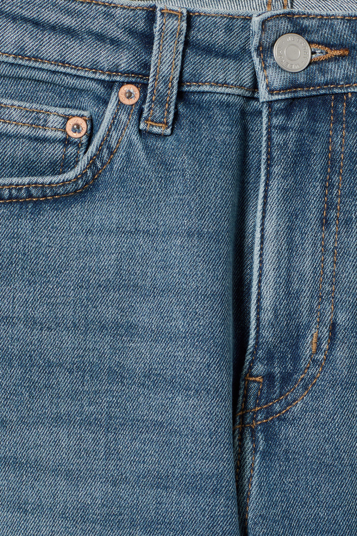 Detailed image of Weekday thursday arizona jeans in blue