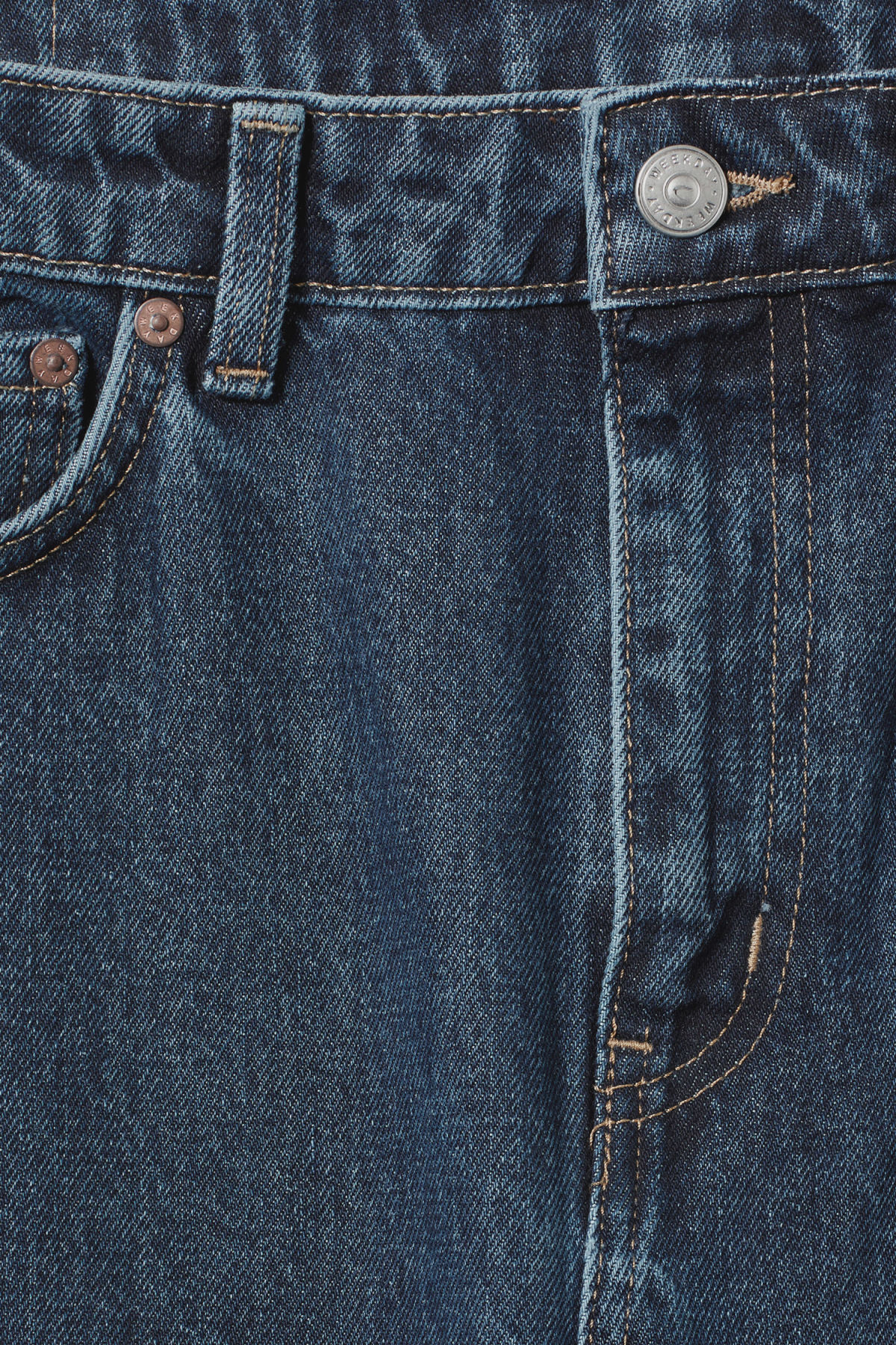 Detailed image of Weekday seattle win jeans in blue