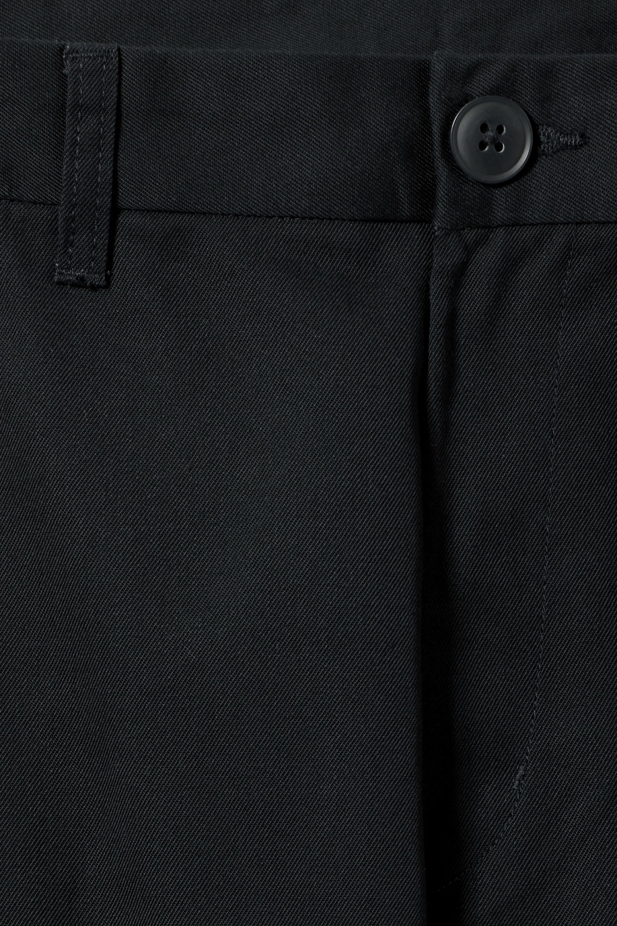 Detailed image of Weekday forest chinos in black