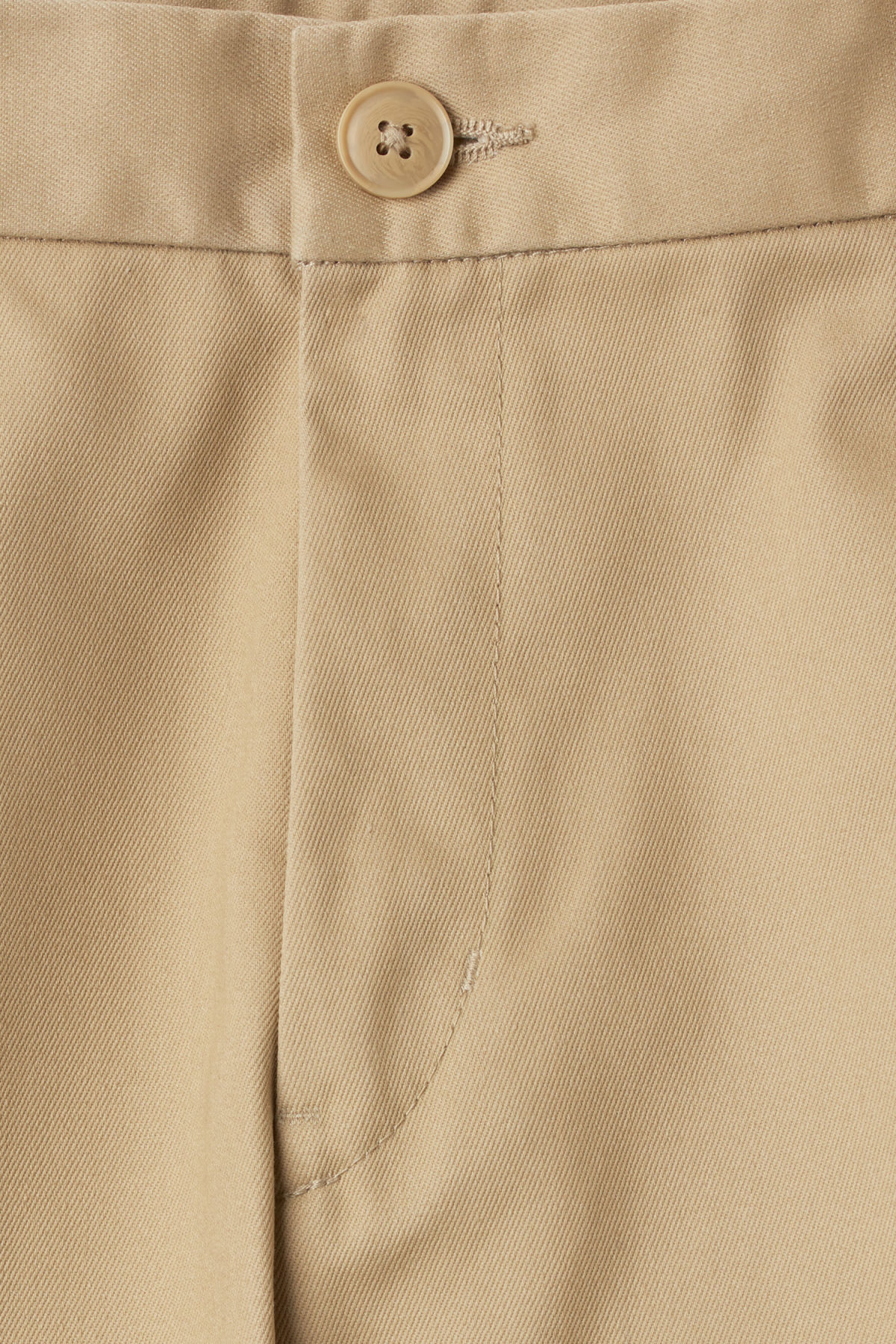 Detailed image of Weekday forest chinos in beige