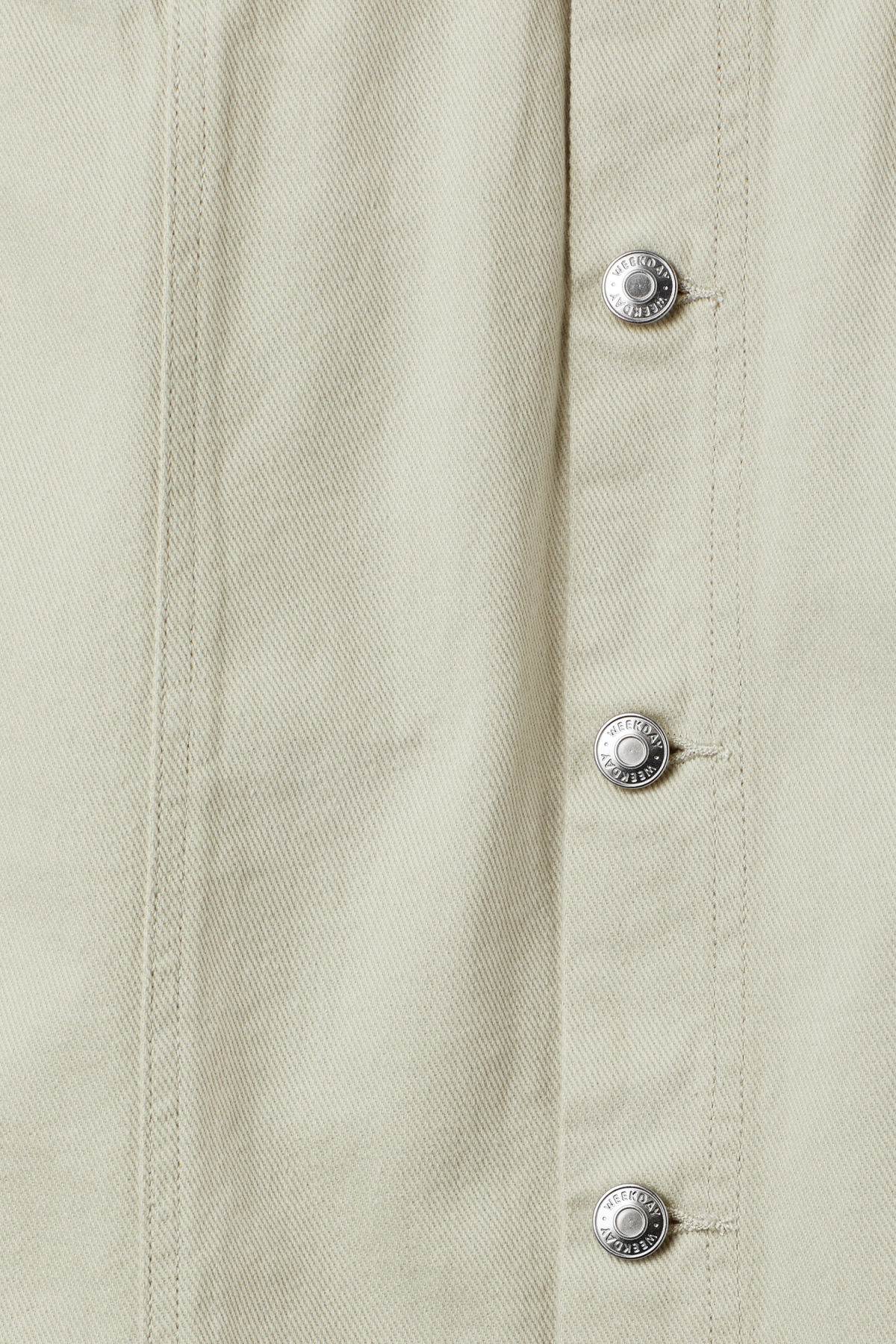 Detailed image of Weekday sign skirt in beige