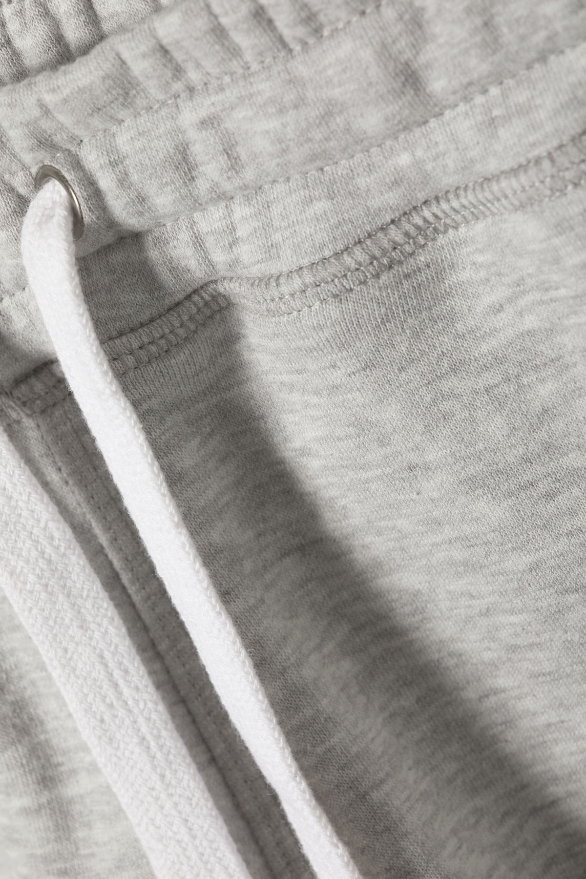 Detailed image of Weekday classic basic pants in grey
