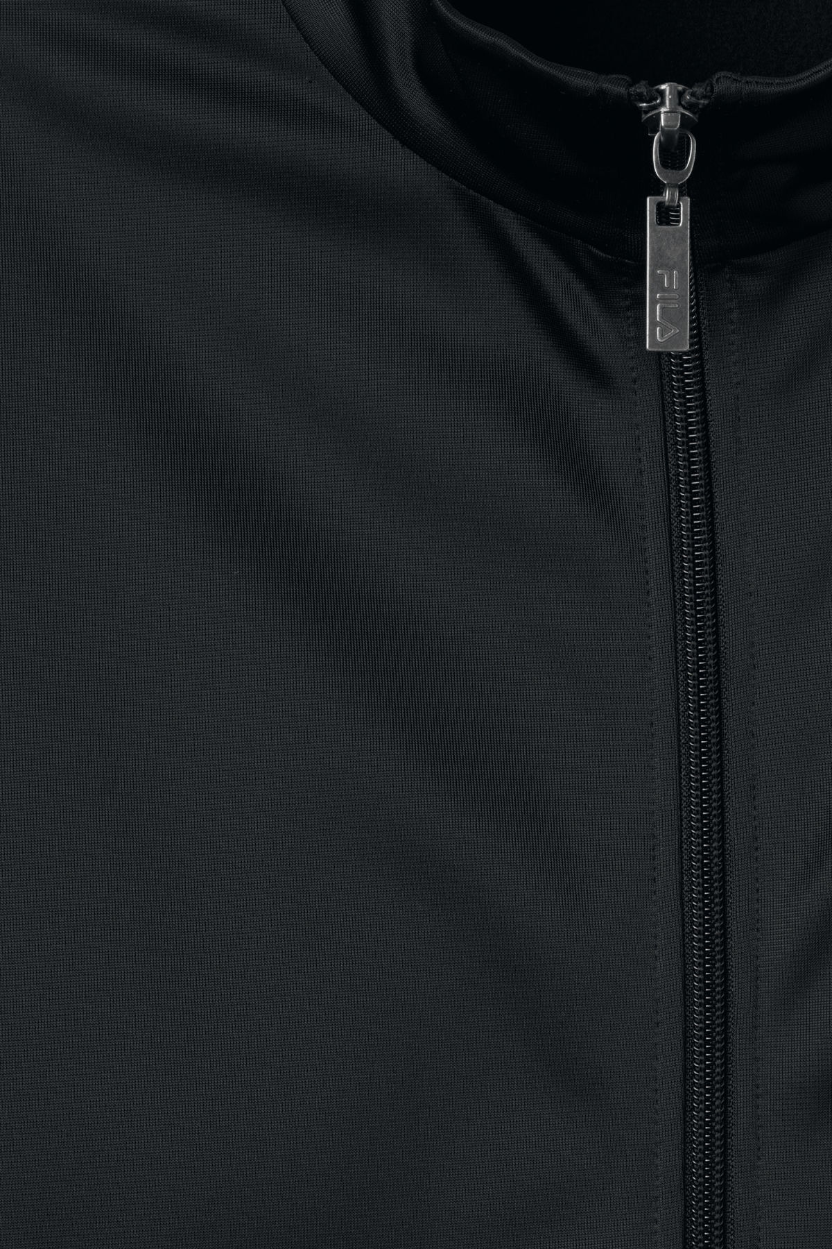 Detailed image of Weekday strap track jacket in black