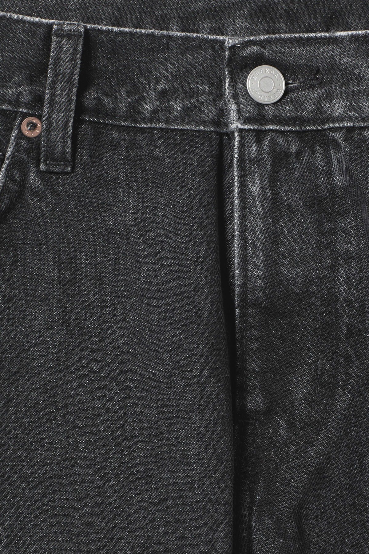 Detailed image of Weekday friday trotter black jeans in grey