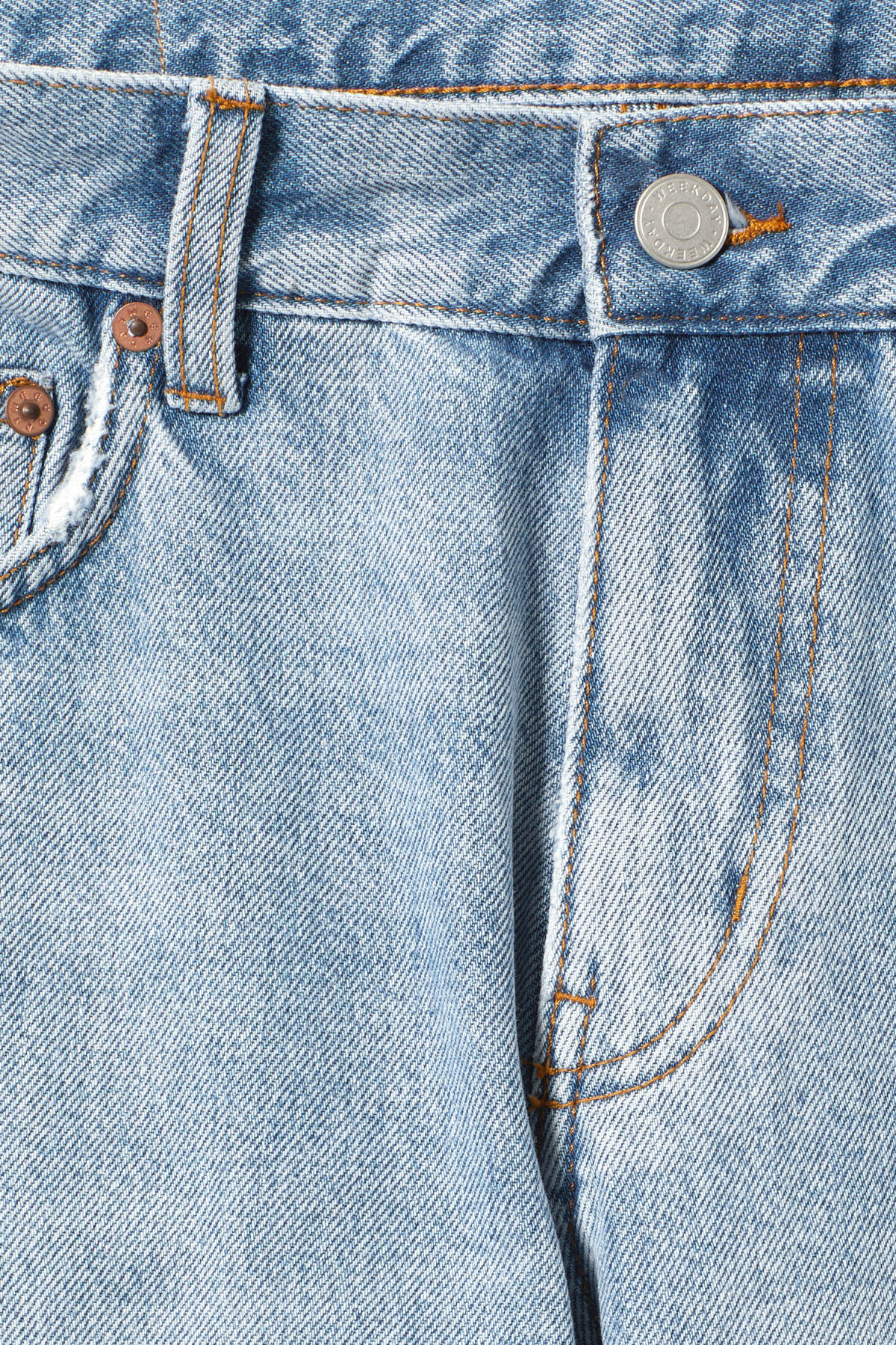 Detailed image of Weekday friday spring blue jeans in blue