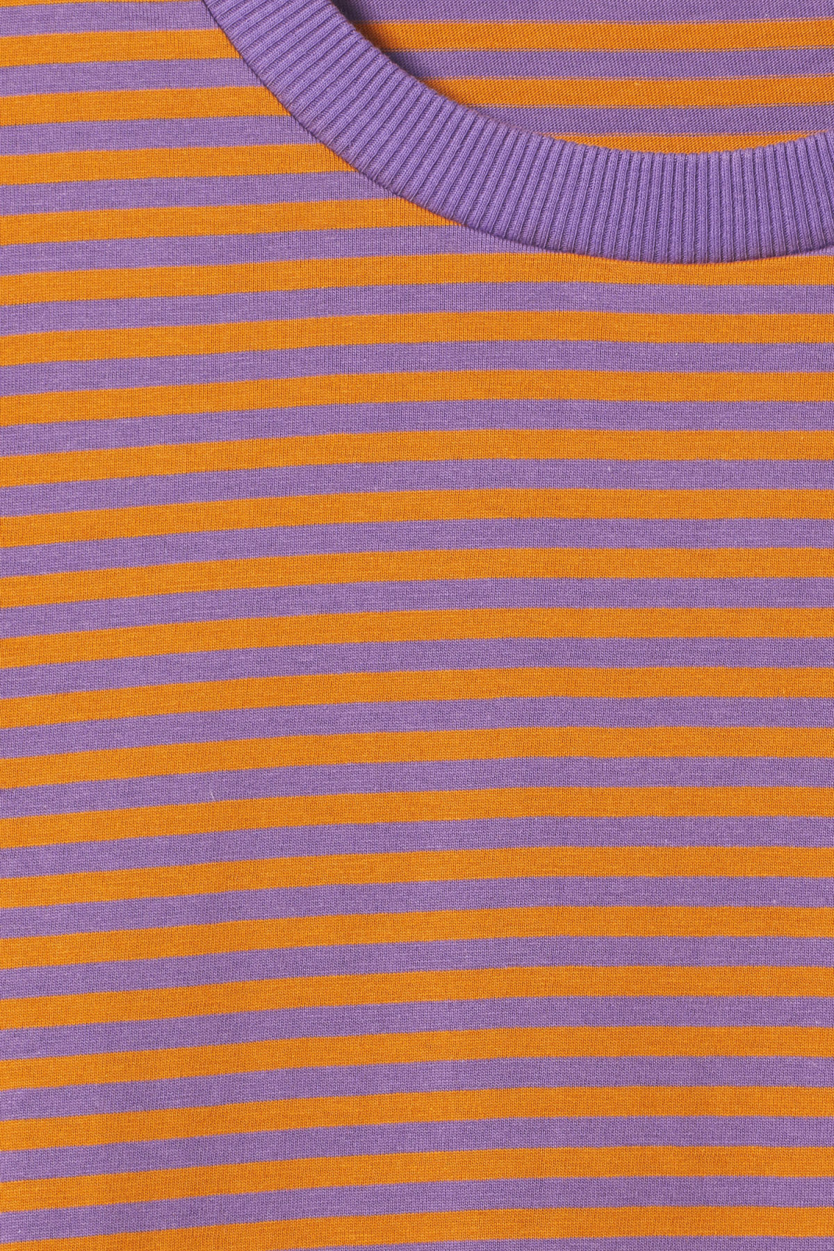 Detailed image of Weekday leonardo stripe long sleeve in yellow