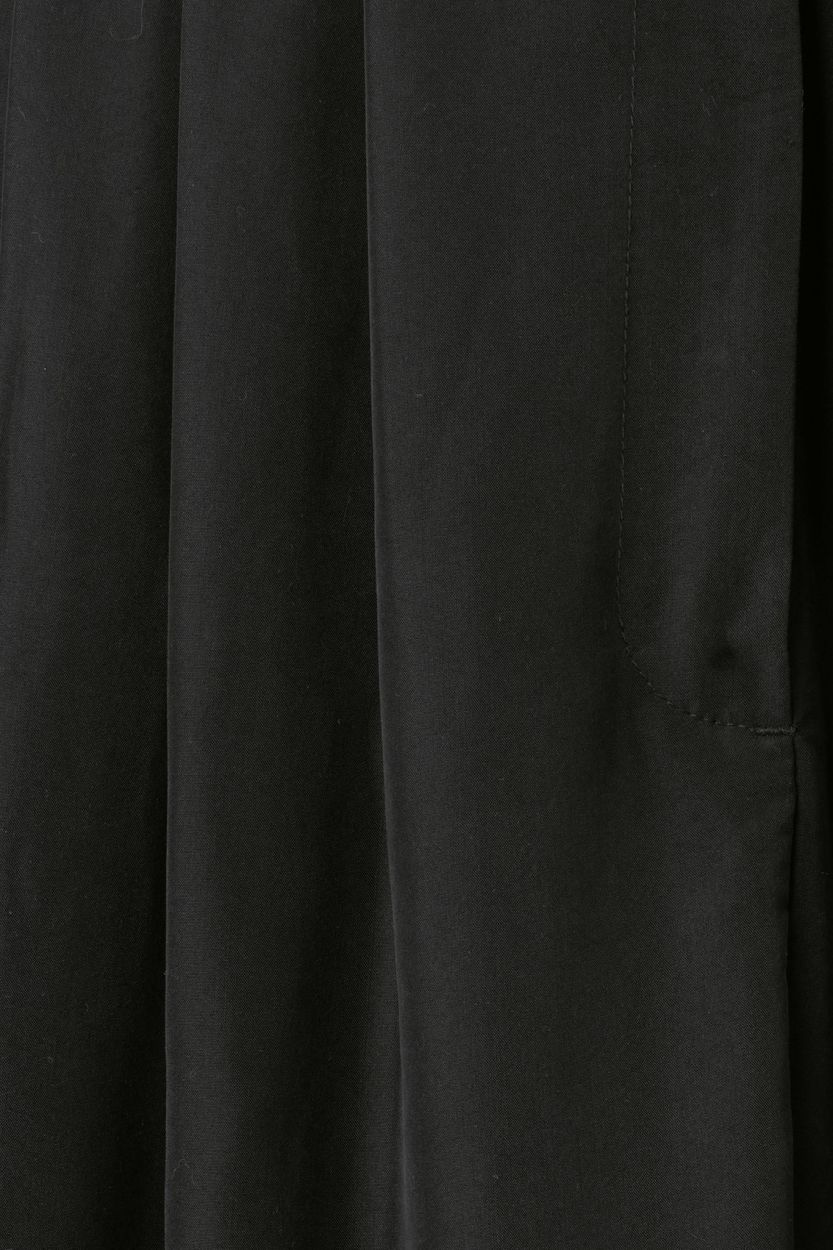 Detailed image of Weekday milly pleat trousers in black