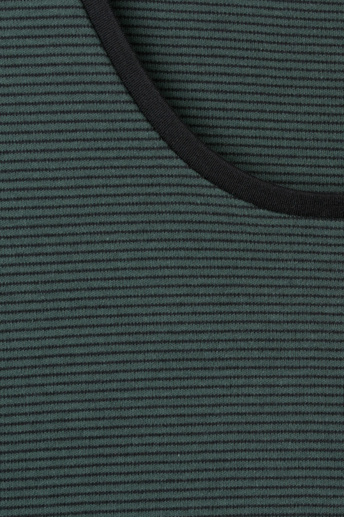 Detailed image of Weekday boule long sleeve  in turquoise