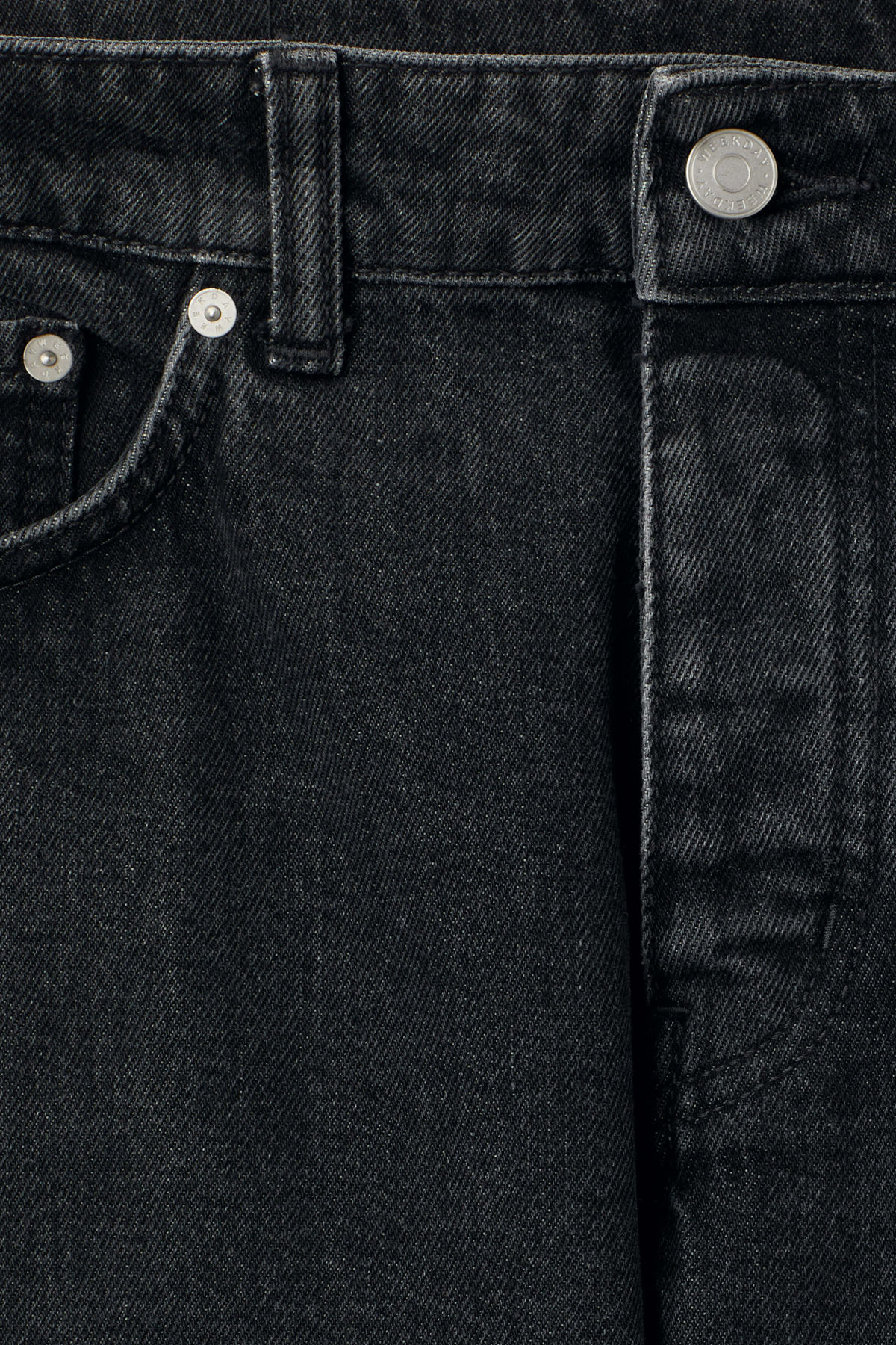 Detailed image of Weekday line trotter black in black