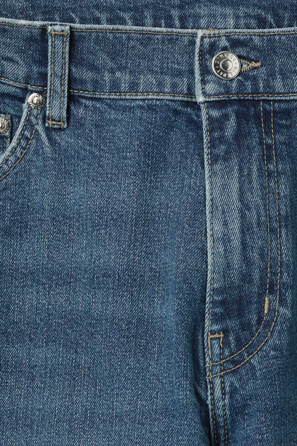 Detailed image of Weekday friday dry blue jeans in blue