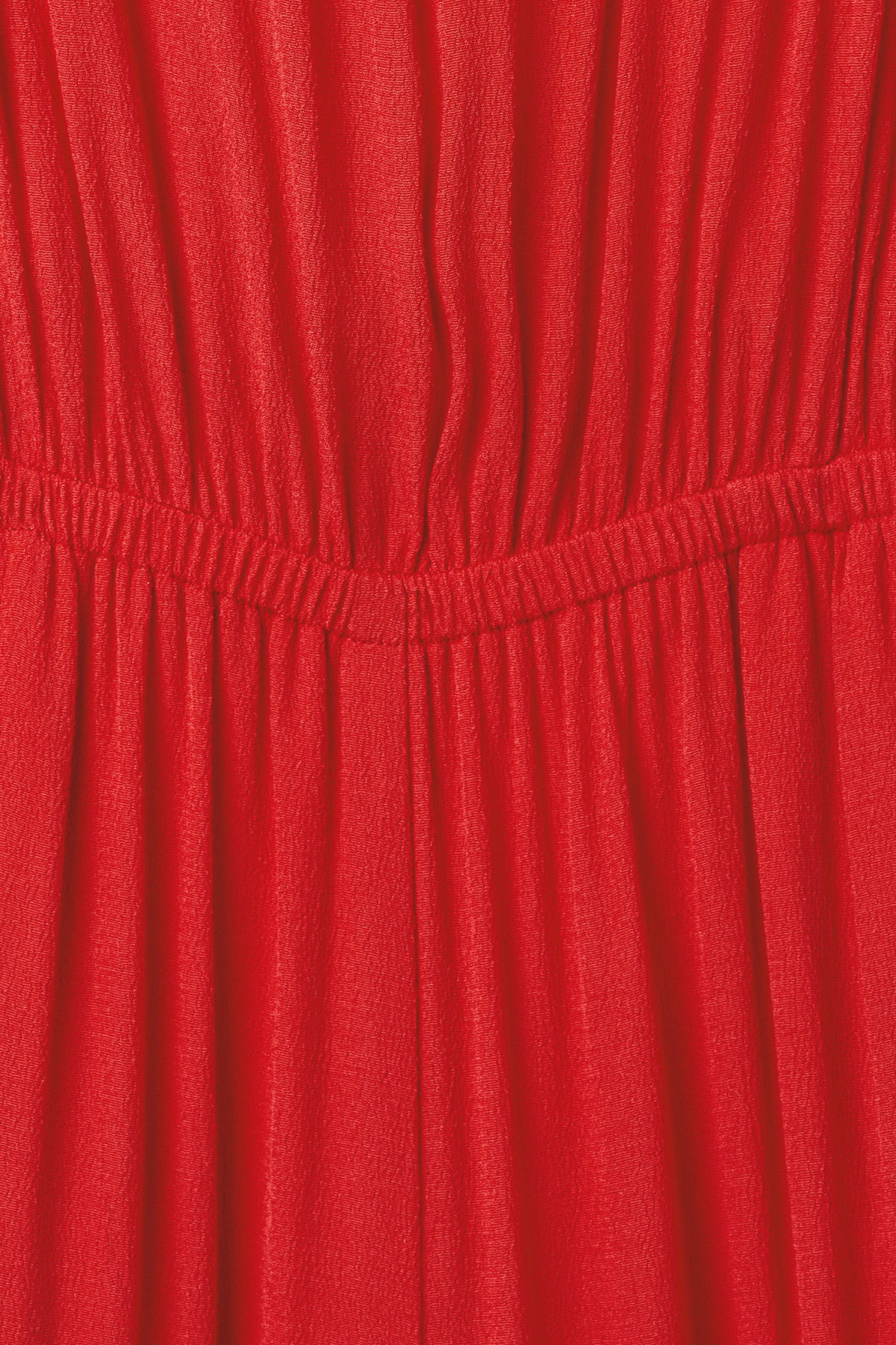 Detailed image of Weekday elora jumpsuit in red