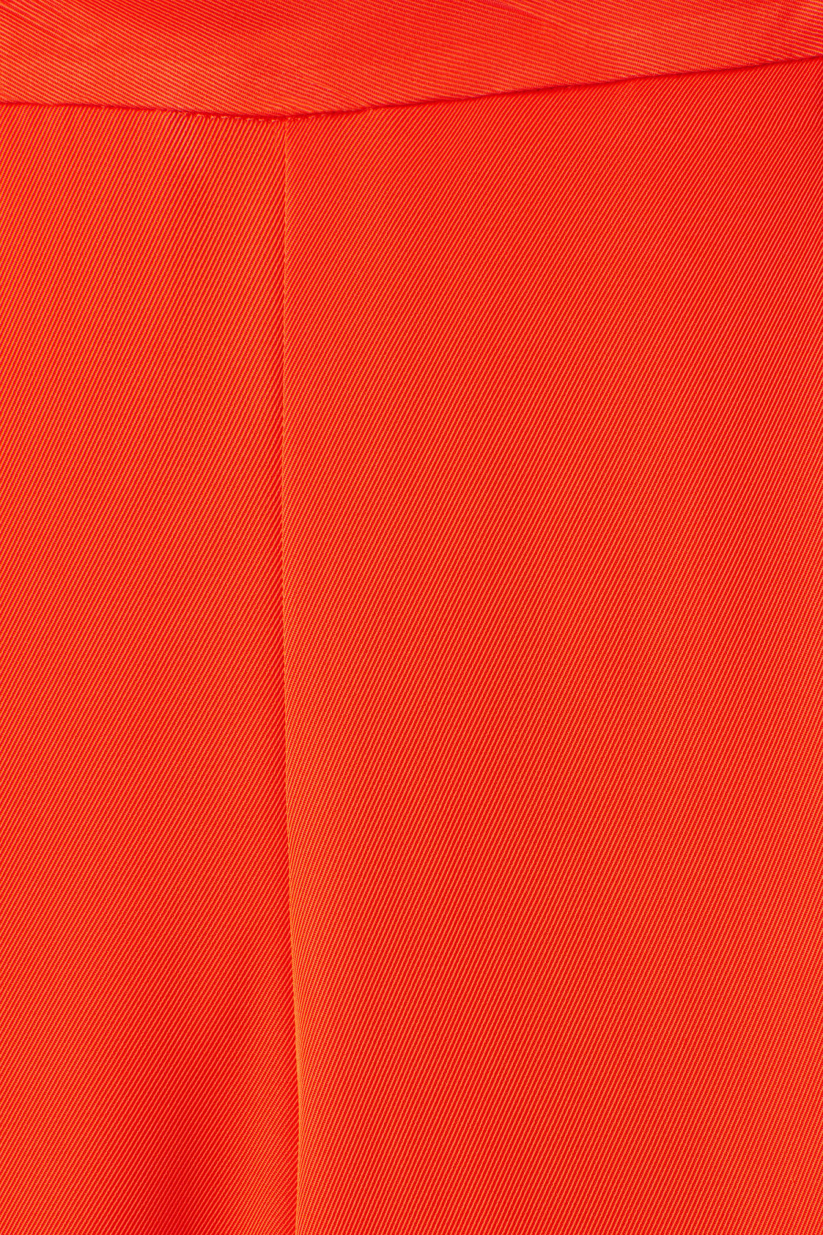 Detailed image of Weekday mount trousers in orange