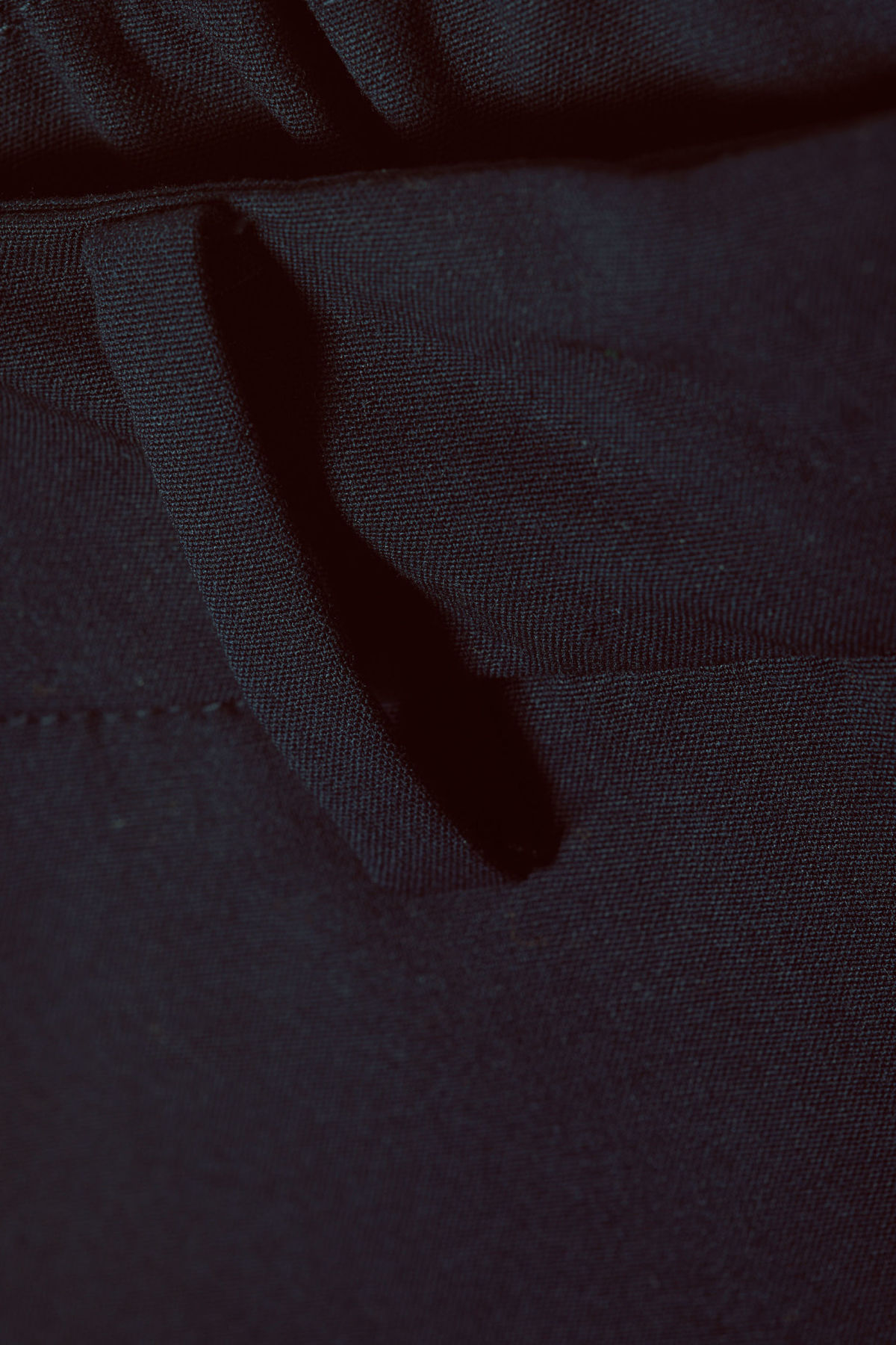 Detailed image of Weekday frank trousers in blue