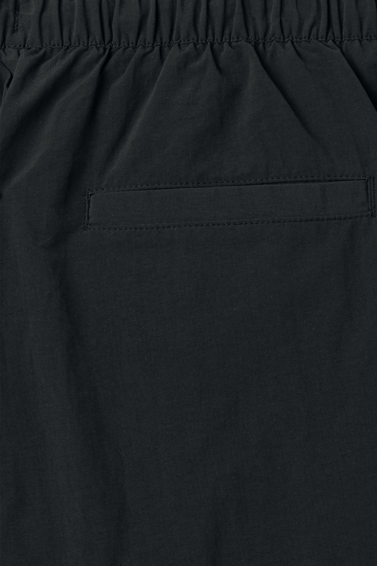 Detailed image of Weekday europa swim shorts in black