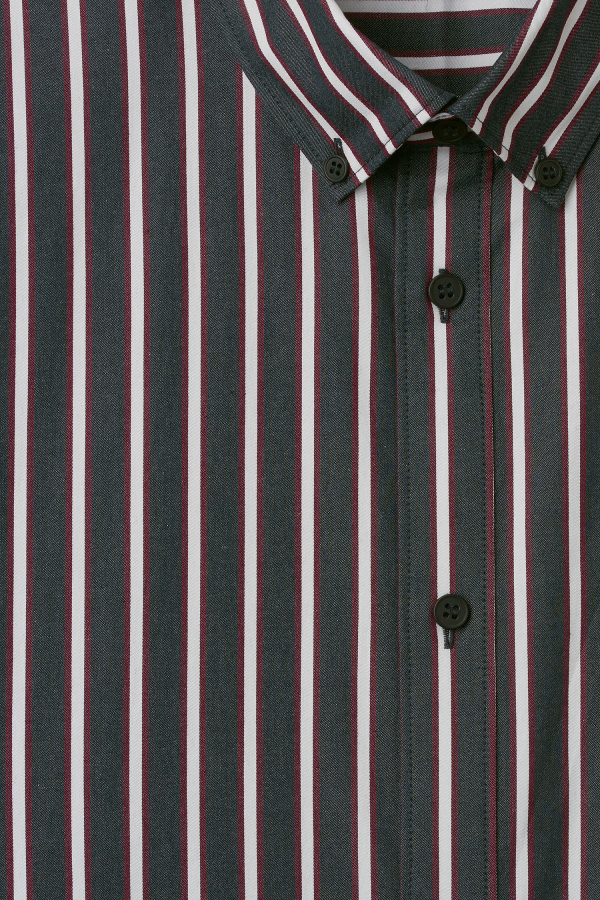 Detailed image of Weekday burg stripe shirt  in blue