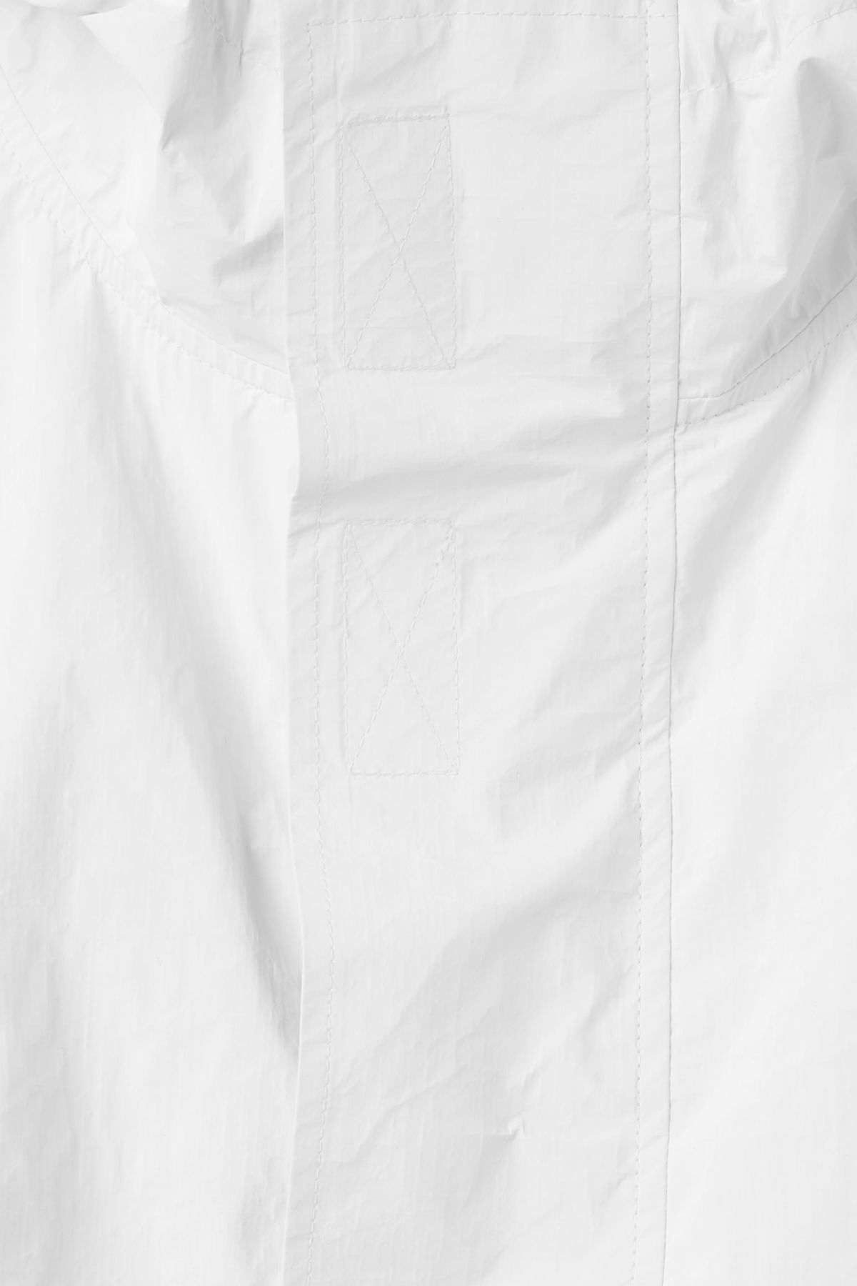 Detailed image of Weekday accord parka in white