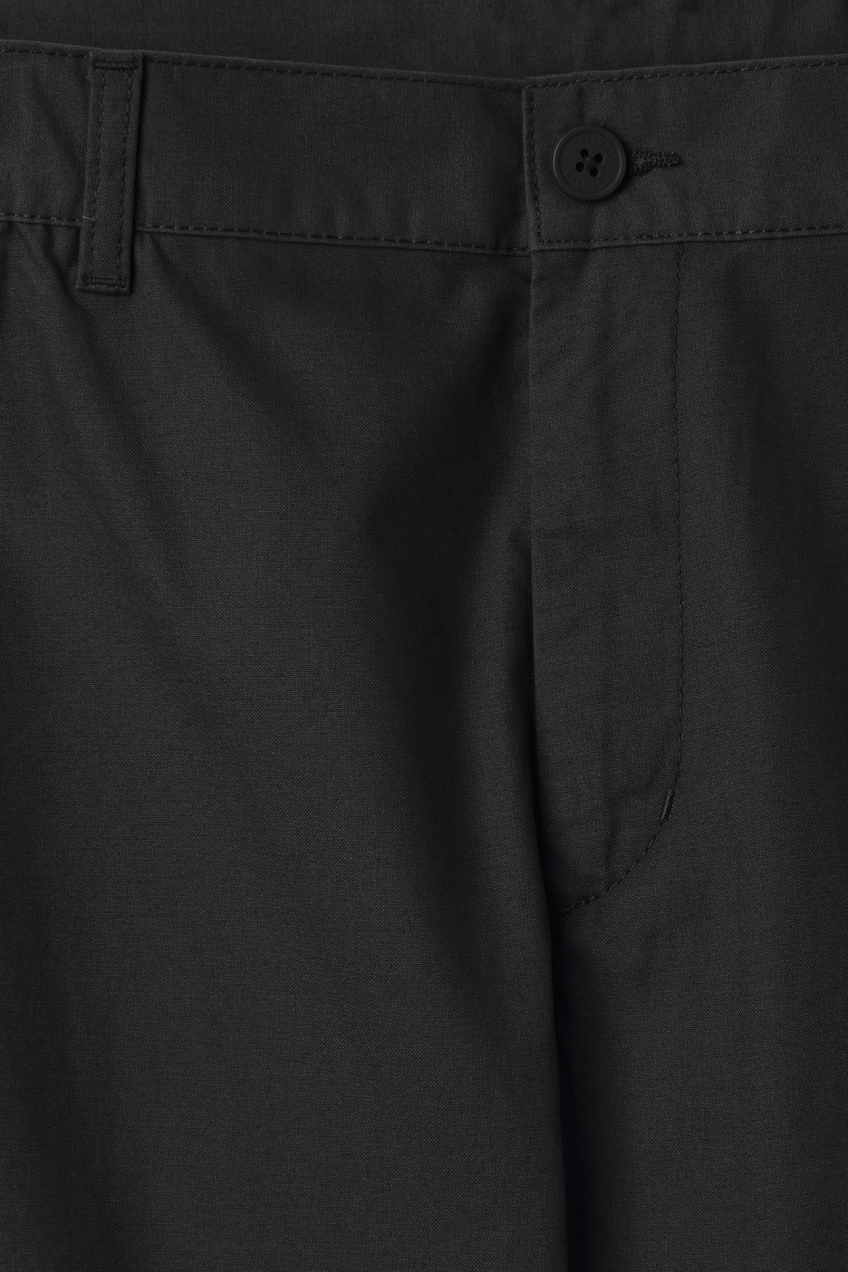 Detailed image of Weekday arbus chinos in black