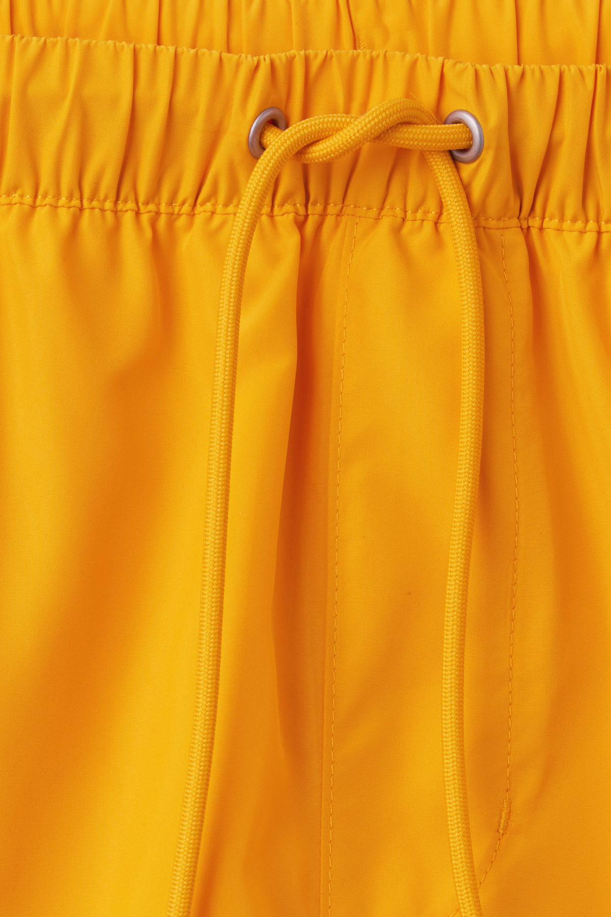 Detailed image of Weekday cymbal swim shorts in yellow