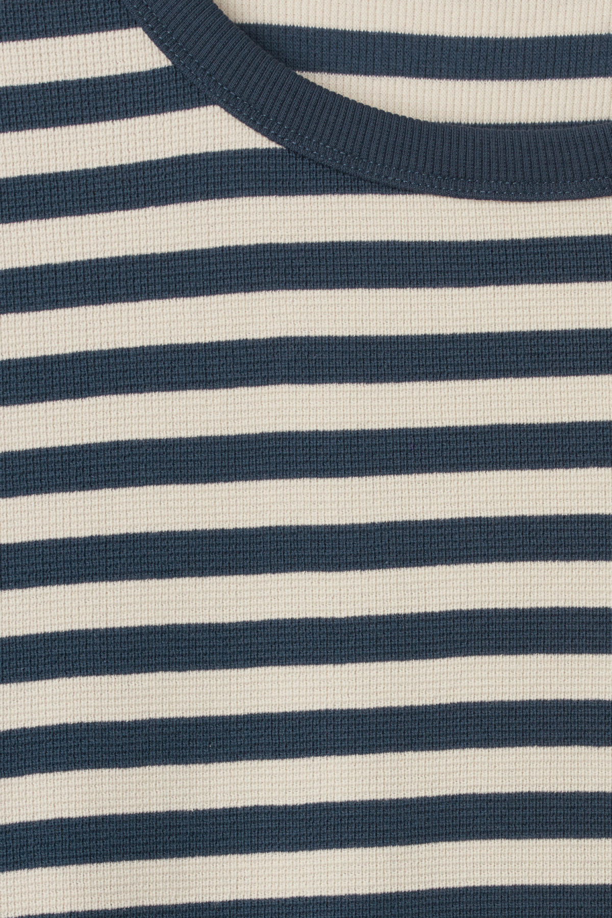 Detailed image of Weekday strip stripe long stripe in blue