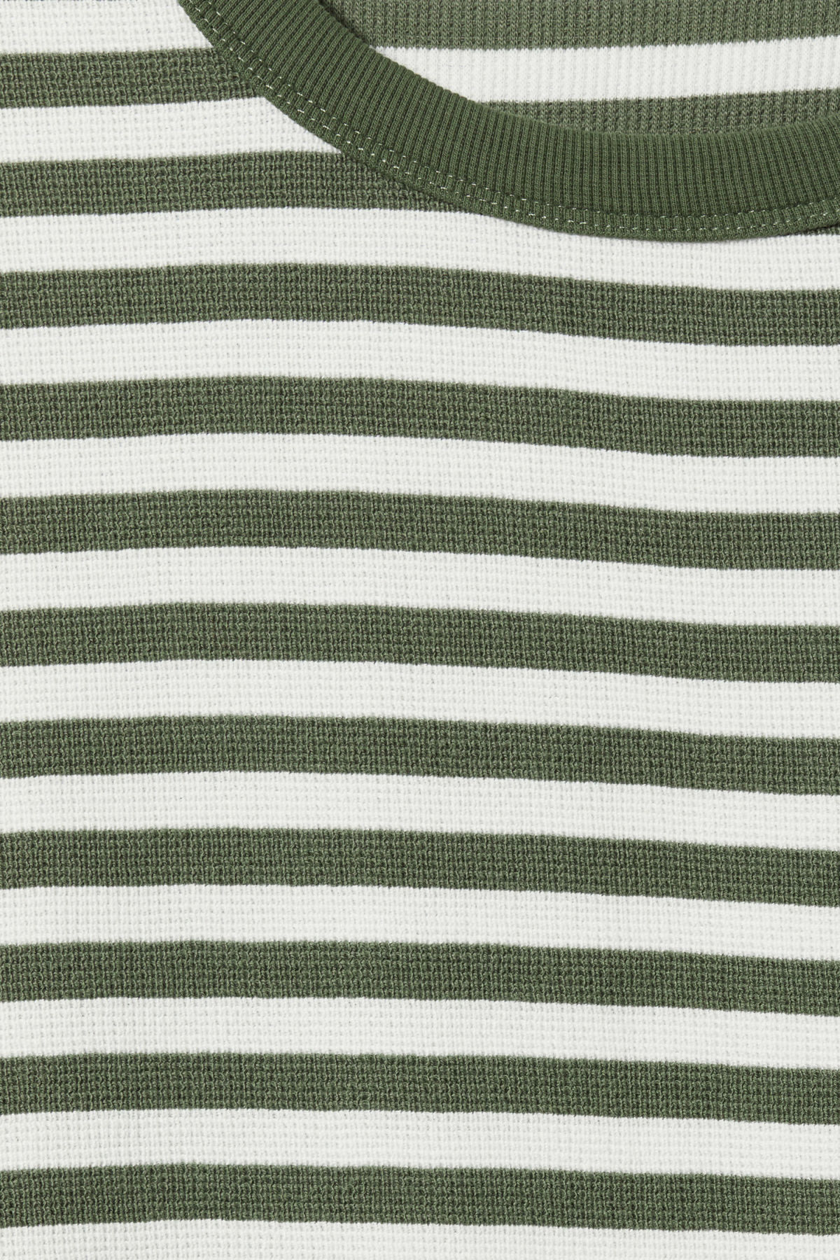 Detailed image of Weekday strip stripe long stripe in green