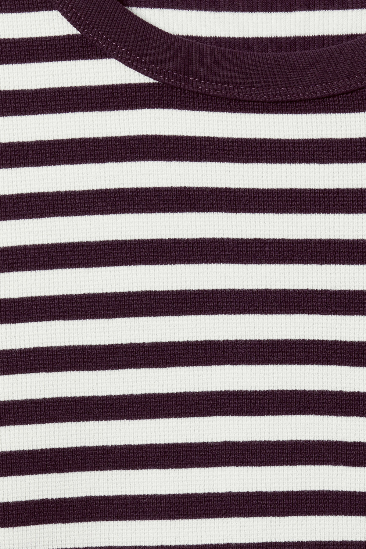 Detailed image of Weekday strip stripe long stripe in purple