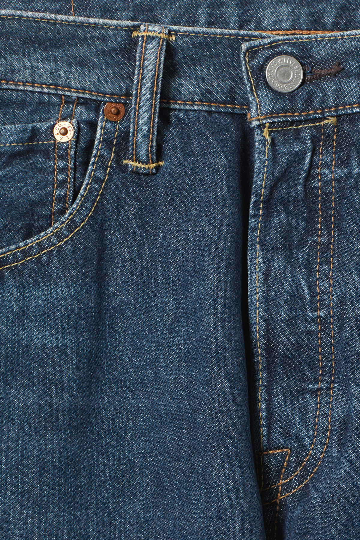 Detailed image of Weekday 501 original sub station jeans in blue