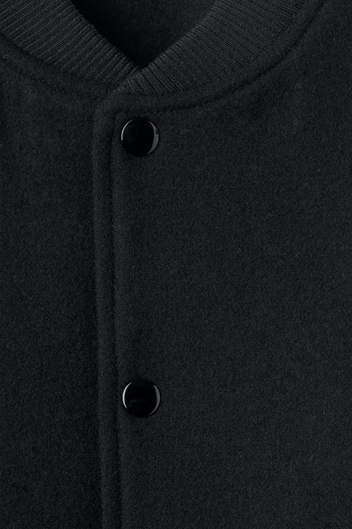 Detailed image of Weekday ska baseball jacket in black