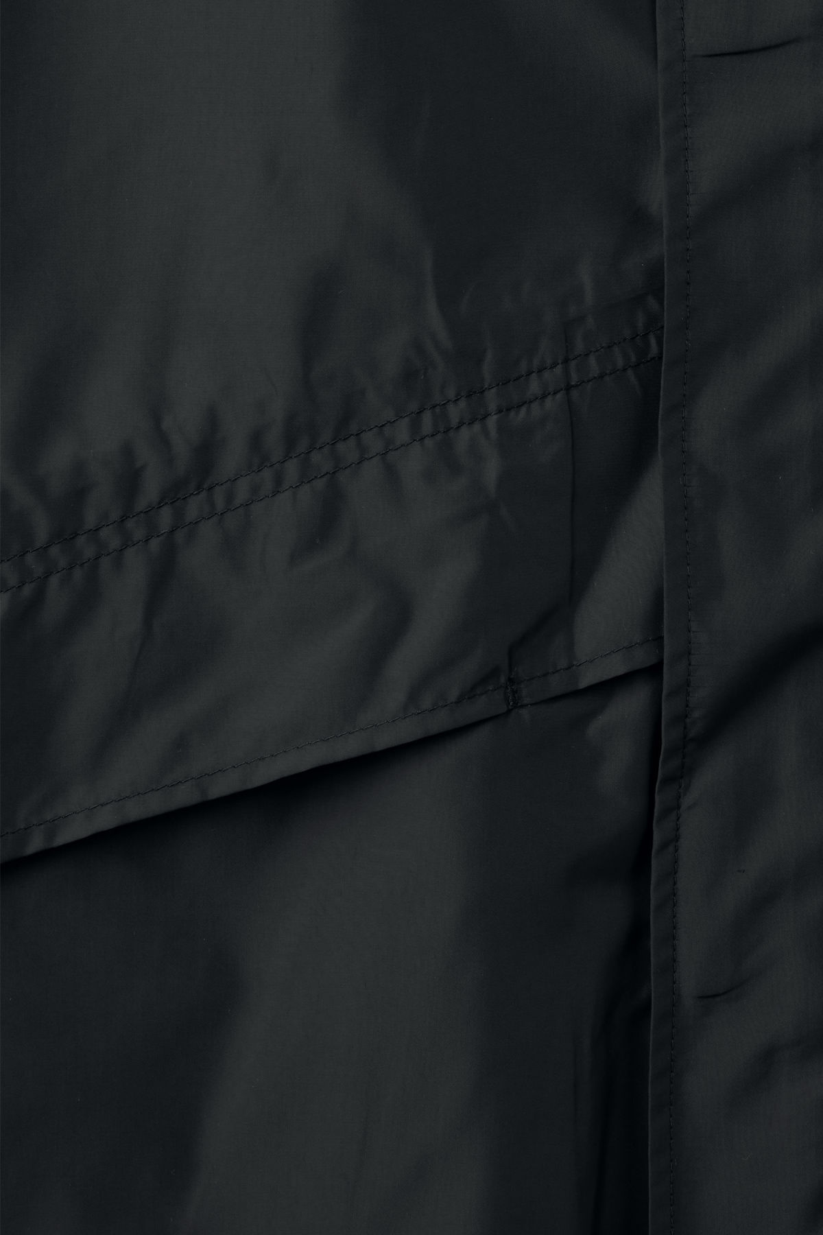 Detailed image of Weekday hagfors parka in black