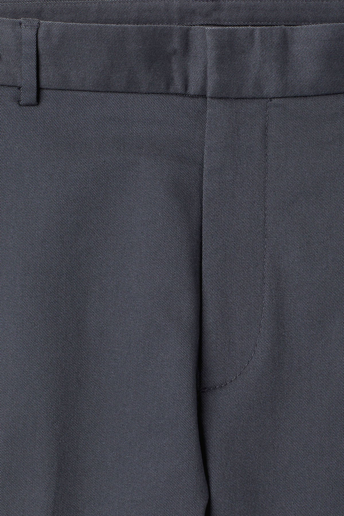 Detailed image of Weekday santana trousers in blue