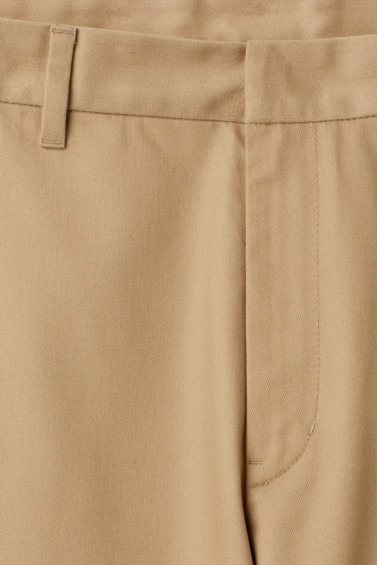 Detailed image of Weekday redwood chinos in beige