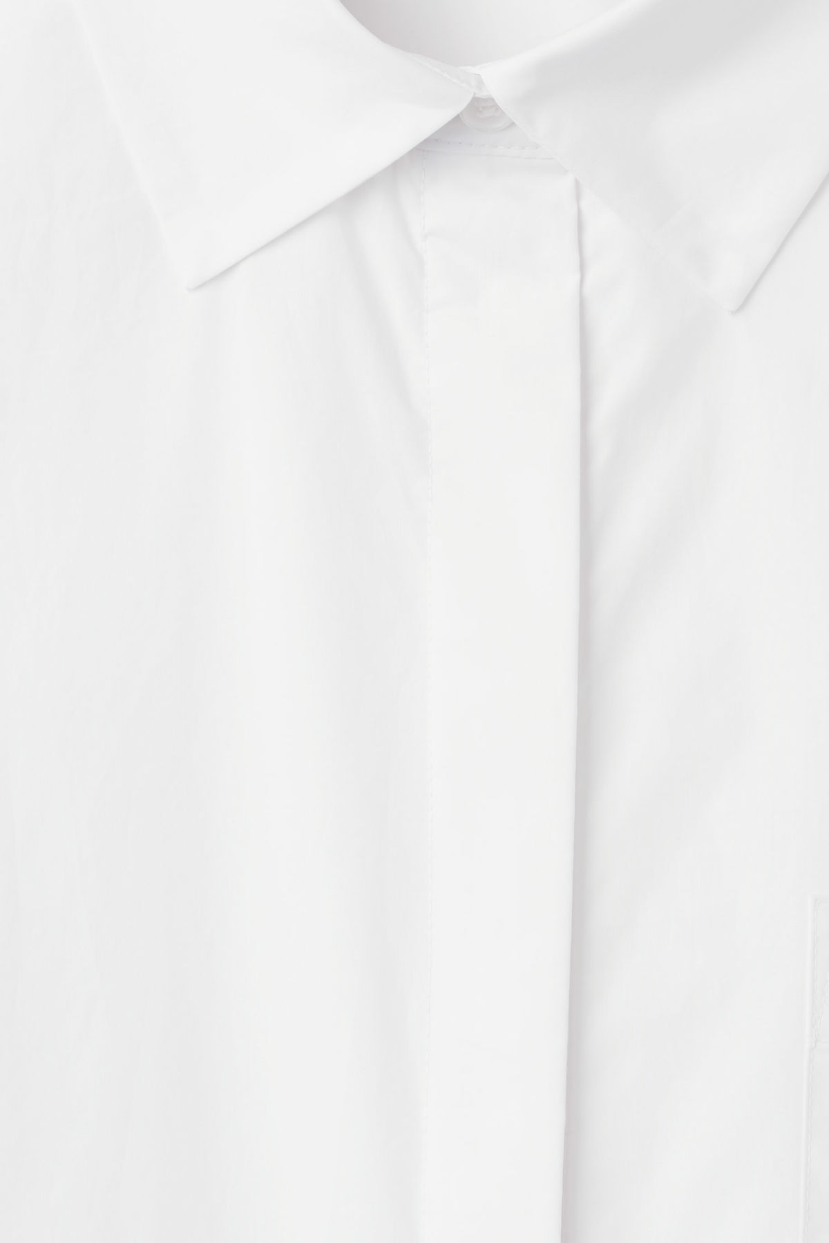 Detailed image of Weekday format shirt  in white