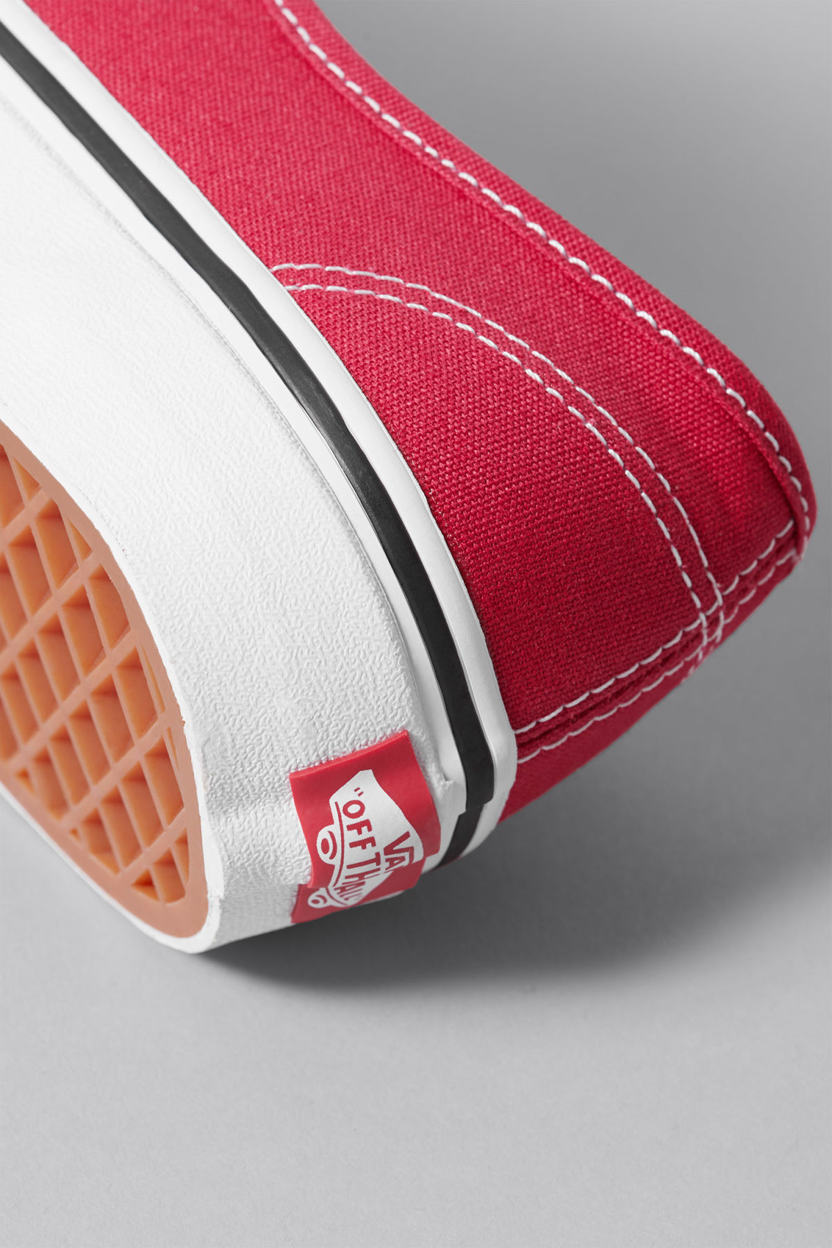 Detailed image of Weekday authentic shoes  in red