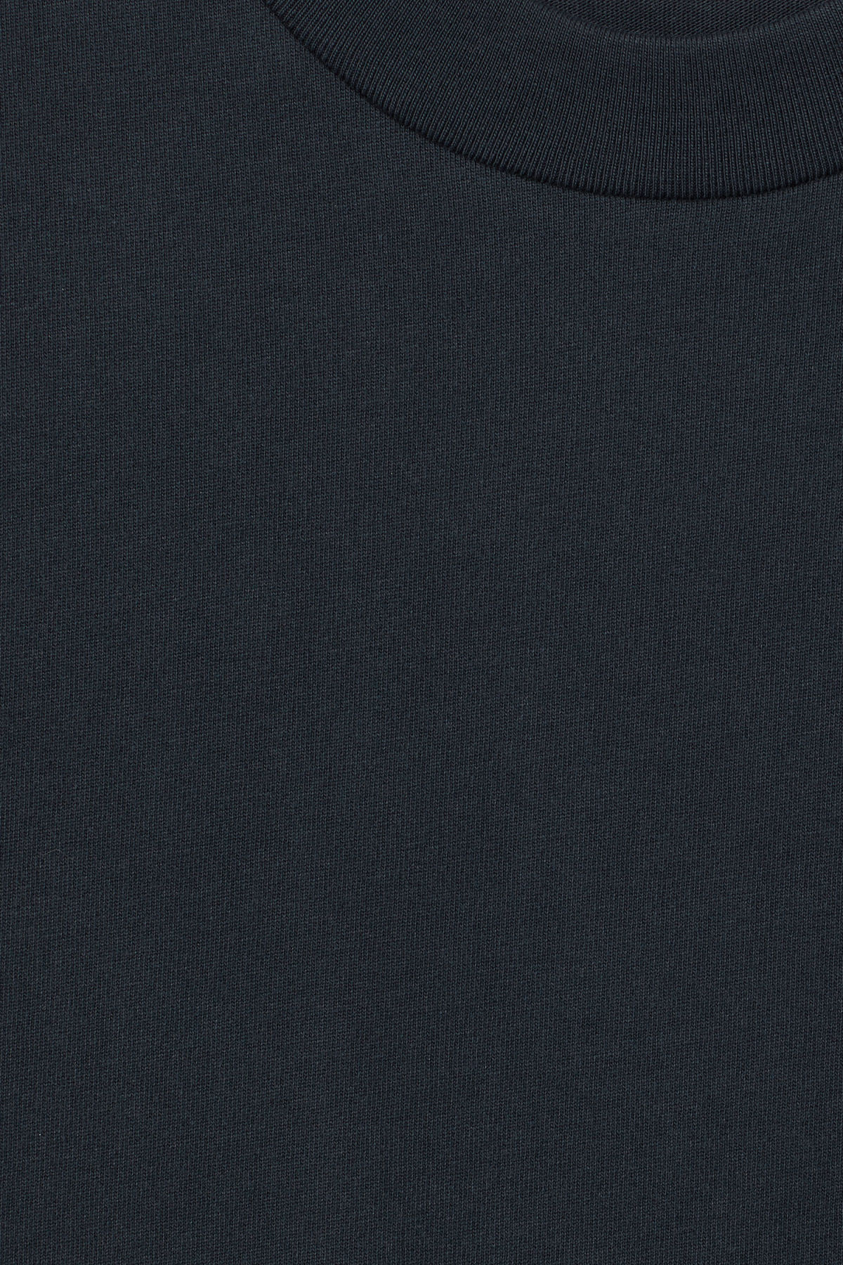 Detailed image of Weekday great t-shirt in blue