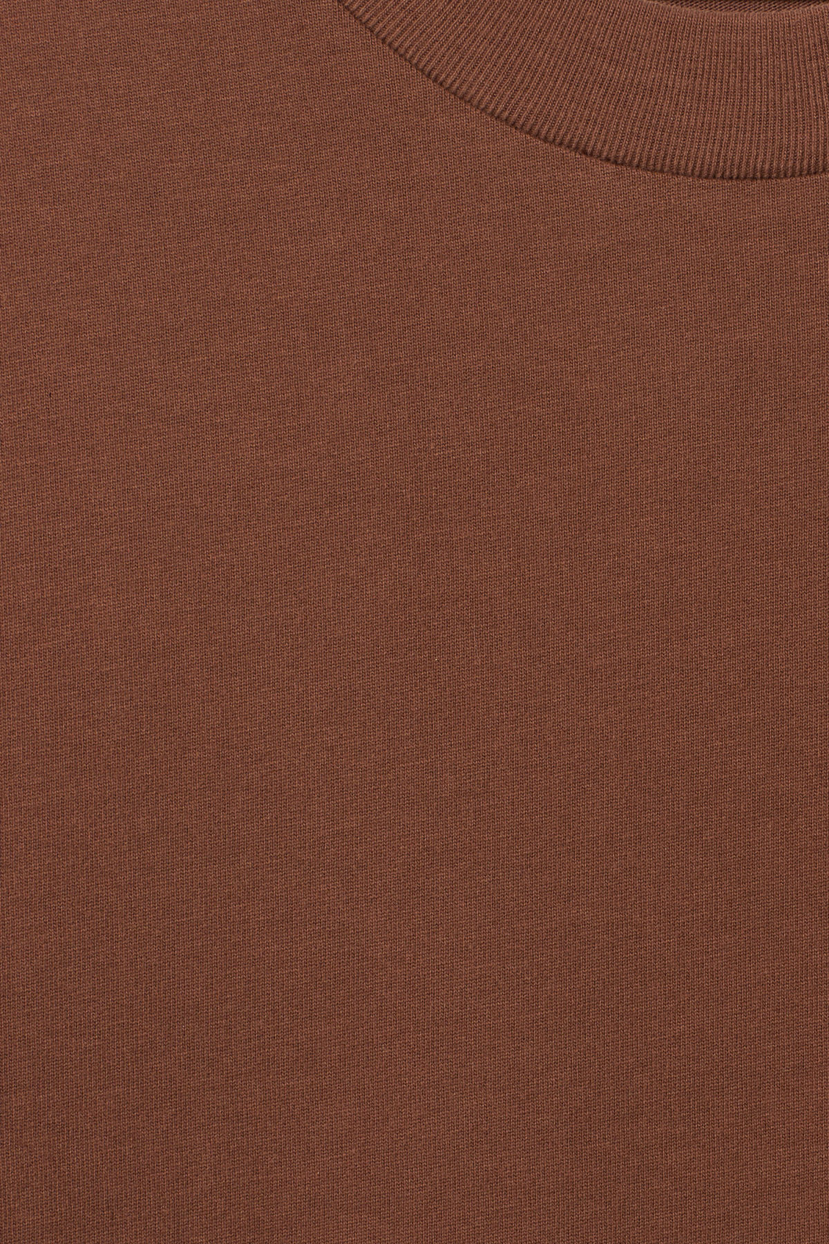 Detailed image of Weekday great t-shirt in beige