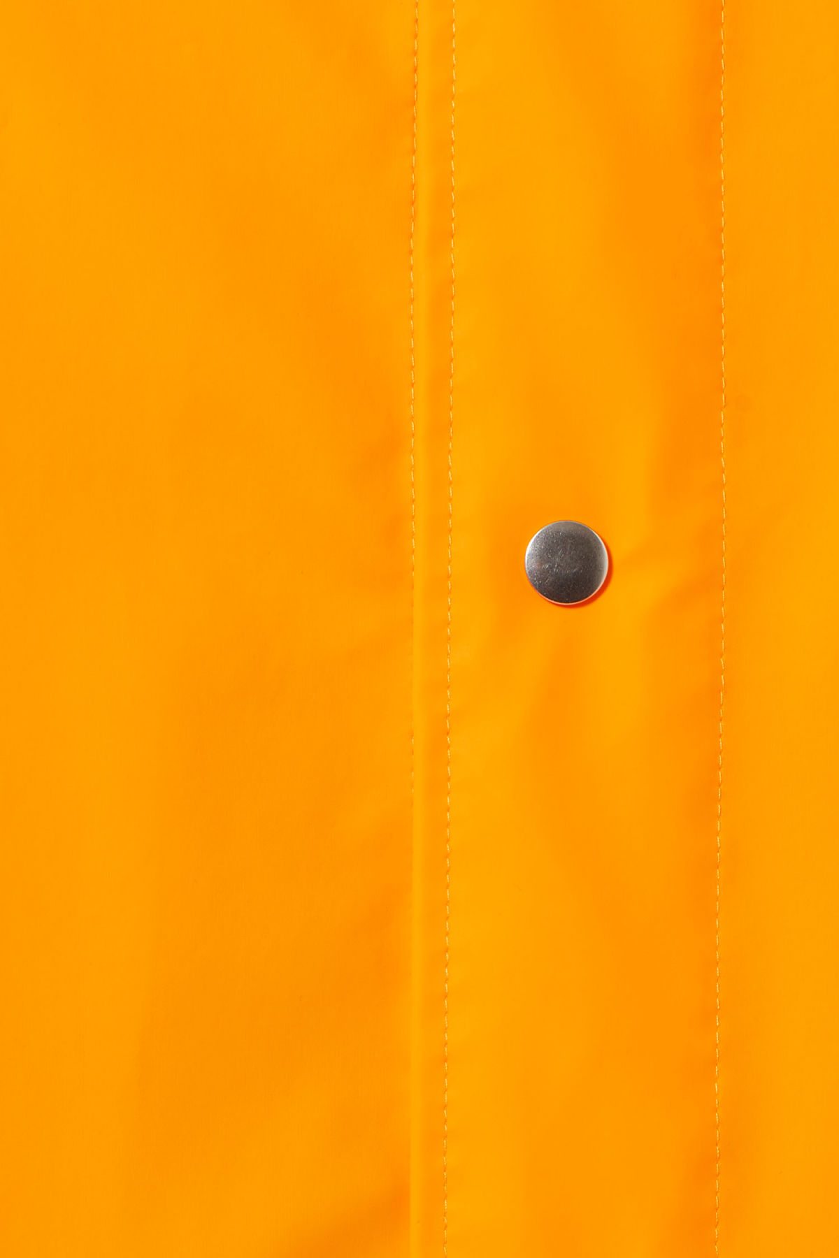 Detailed image of Weekday sune raincoat in yellow